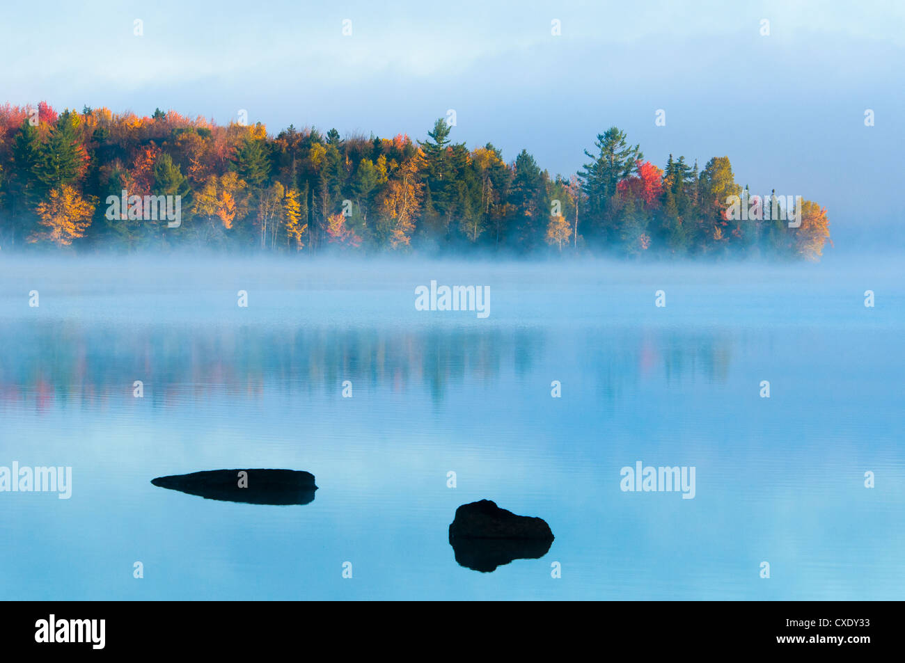 Lake Umbagog, New Hampshire, New England, United States of America, North America - Stock Image