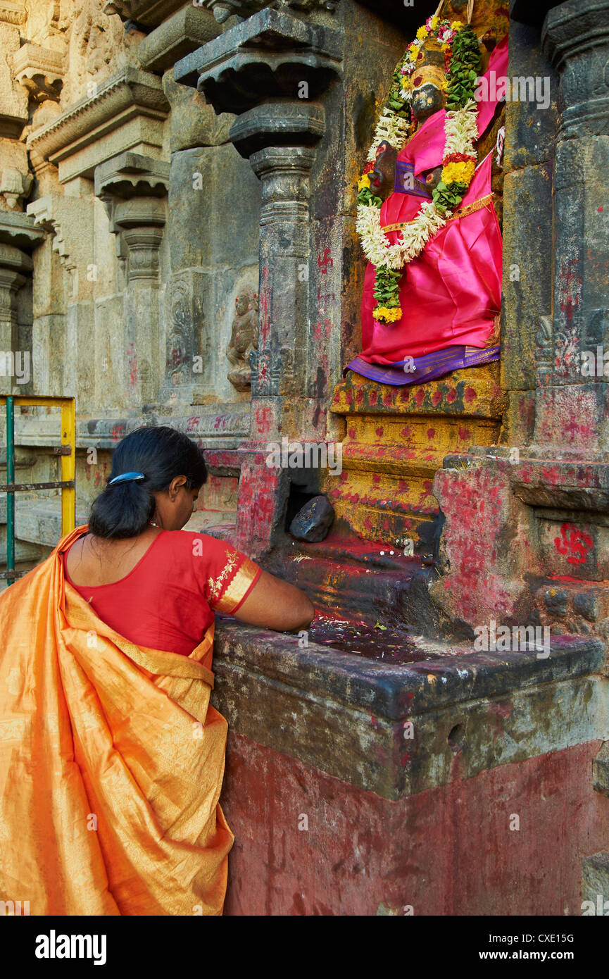 Arunachaleswar temple, Tiruvannamalai, Tamil Nadu, India, Asia - Stock Image