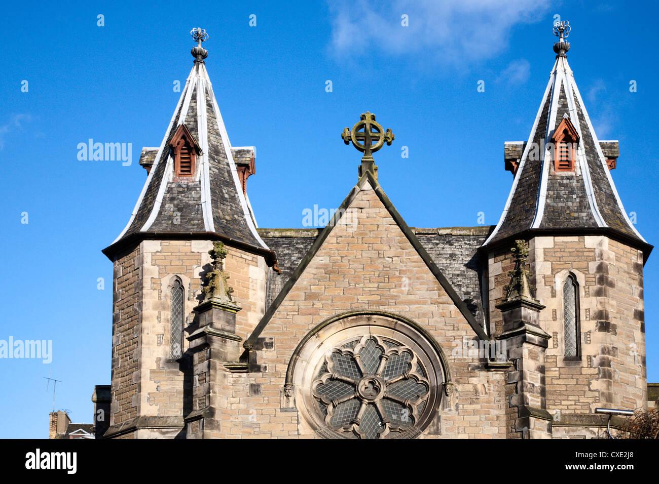 Panmure Congregational Church, Dundee, Scotland - Stock Image