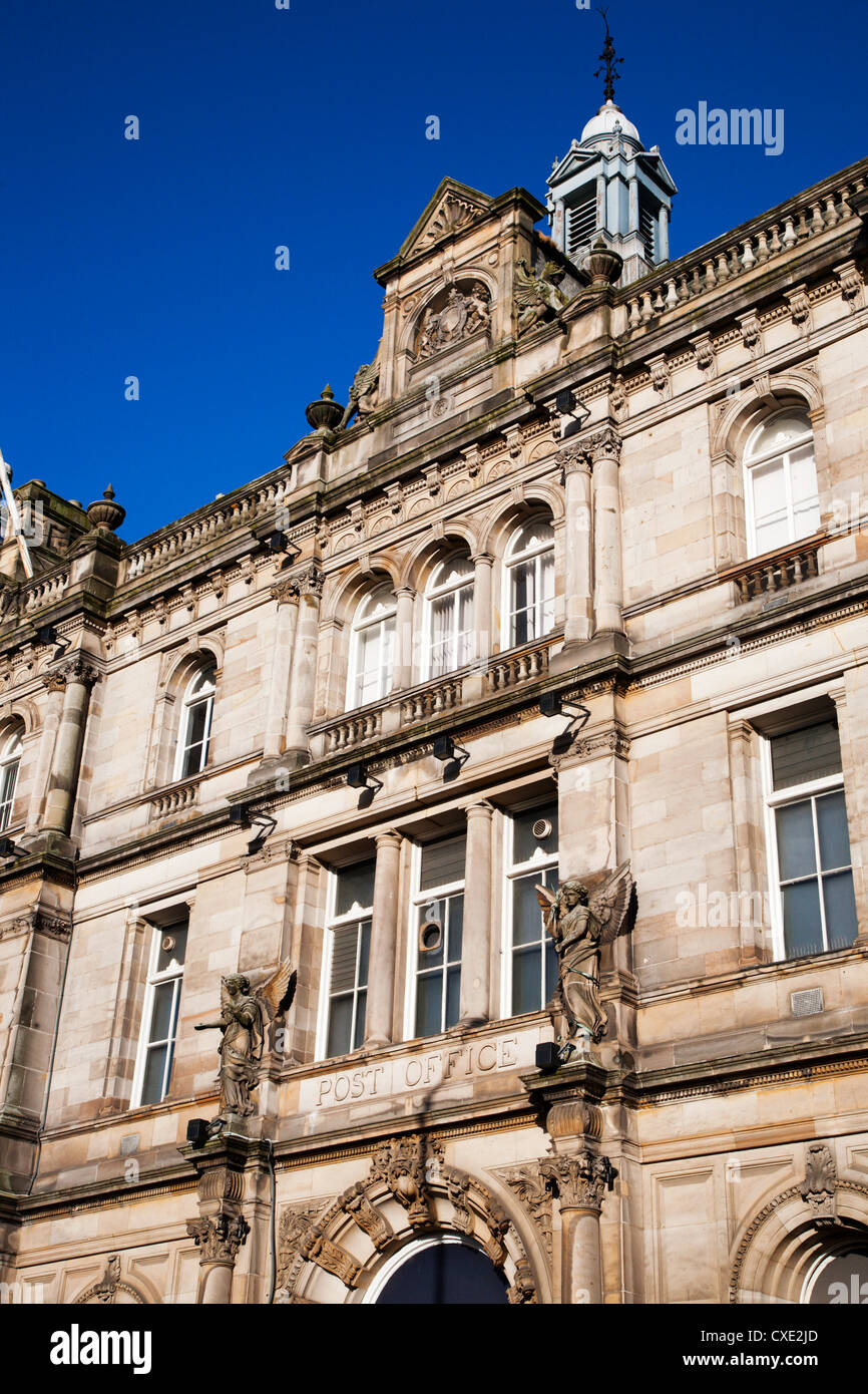 Old Post Office Building, Dundee, Scotland - Stock Image