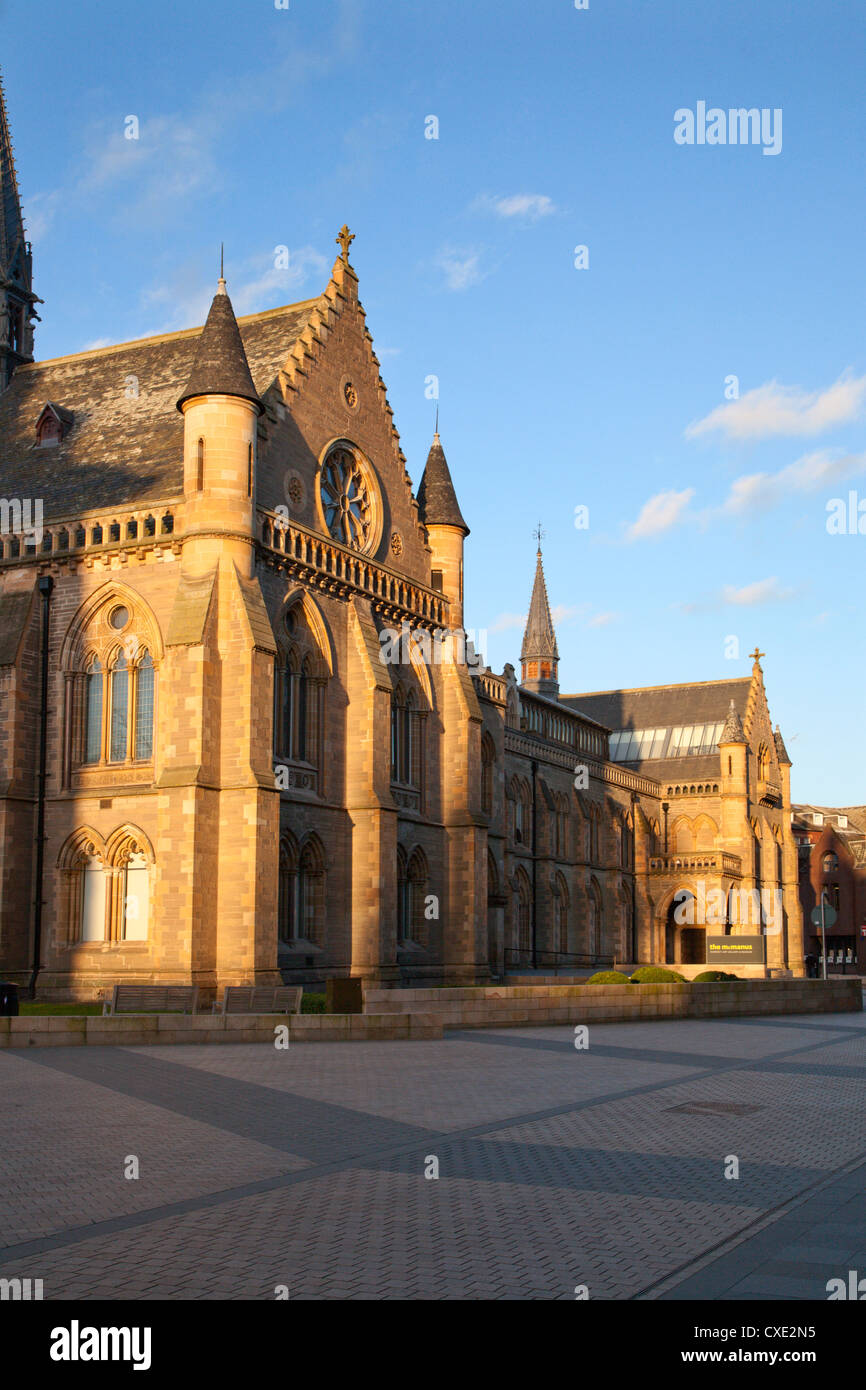 The McManus Art Gallery and Museum, Dundee, Scotland - Stock Image