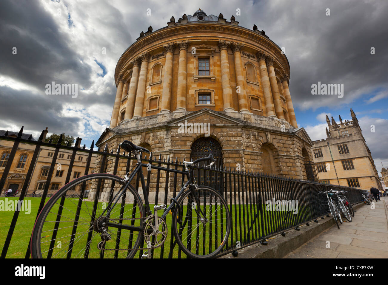 The Radcliffe Camera (round Palladian style library built in 1748), Oxford, Oxfordshire, England - Stock Image