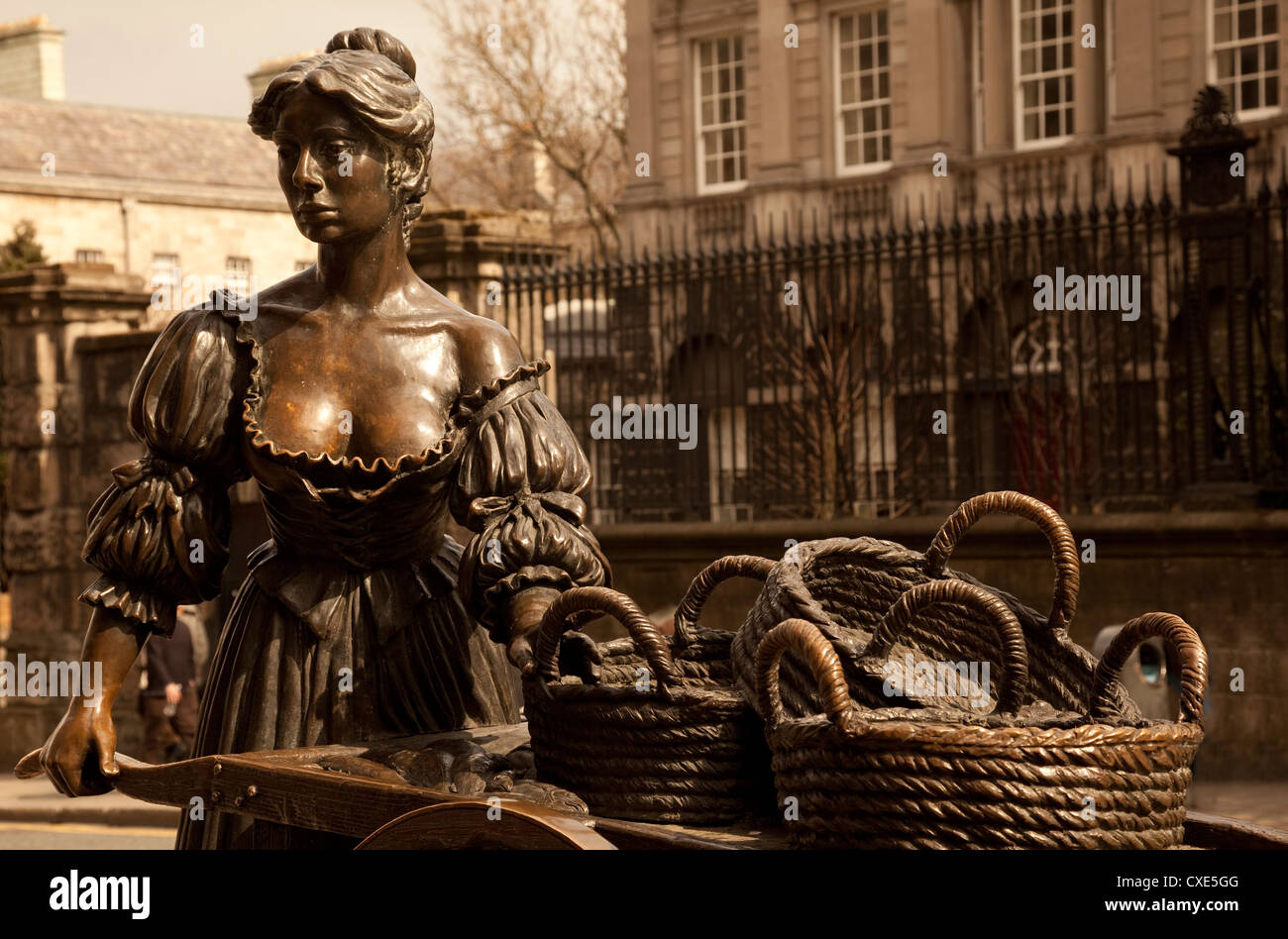Statue of Molly Malone, Dublin, Ireland, Europe. - Stock Image