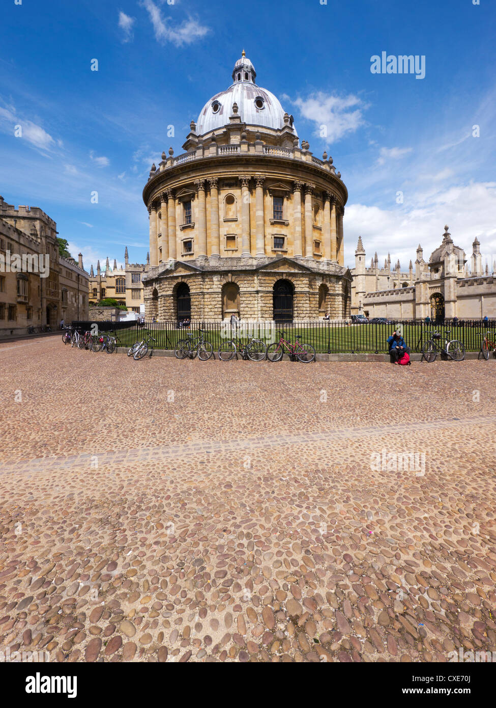 Radcliffe Camera, Oxford, Oxfordshire, England, UK - Stock Image