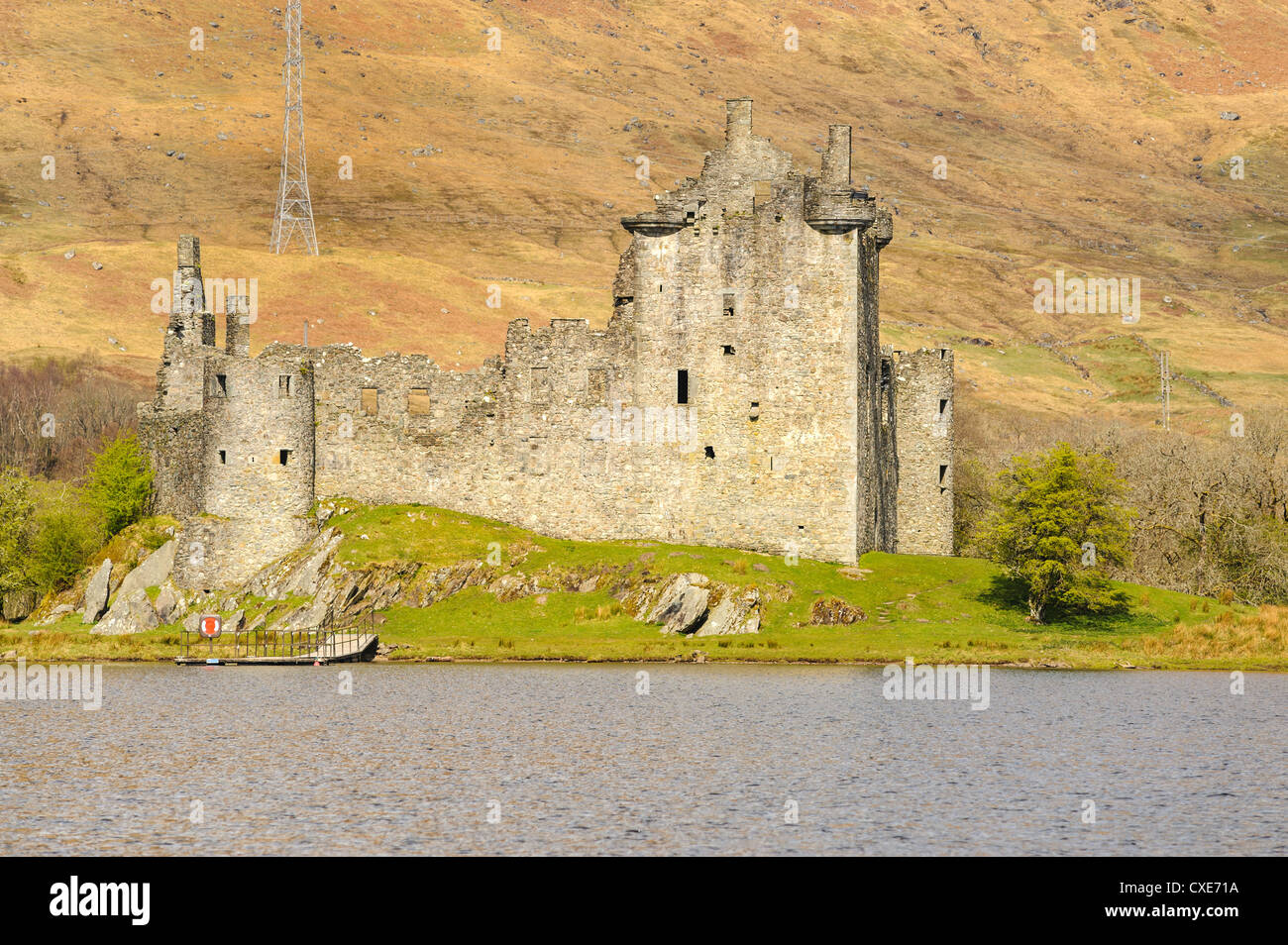 Kilchurn Castle, Loch Awe, Argyll and Bute, Scottish Highlands, Scotland Stock Photo