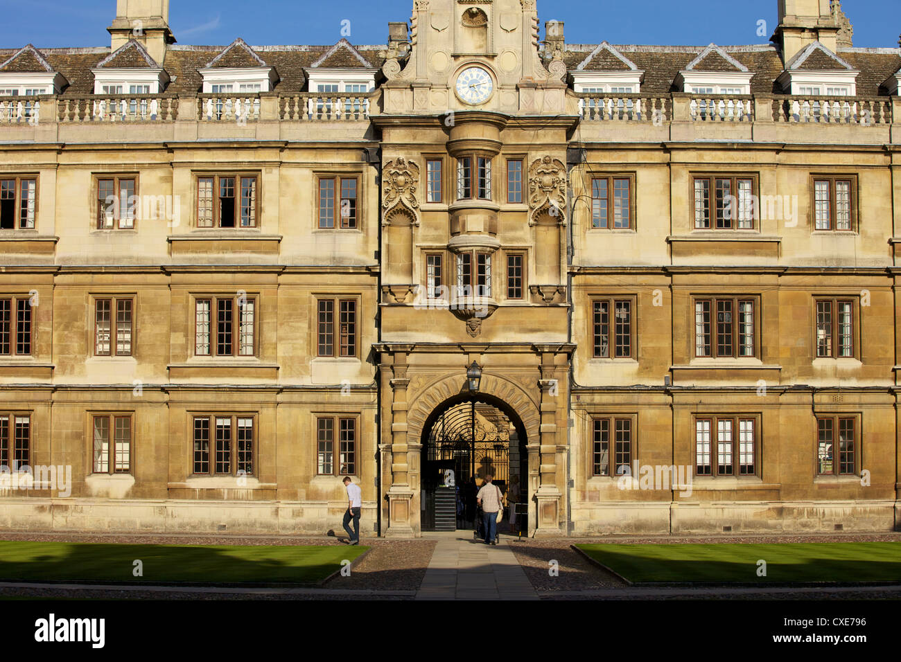 Clare College, Cambridge, England - Stock Image