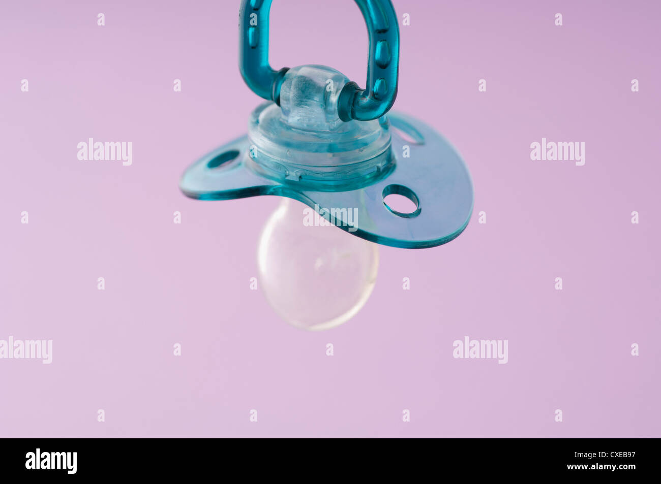 Baby pacifier - Stock Image