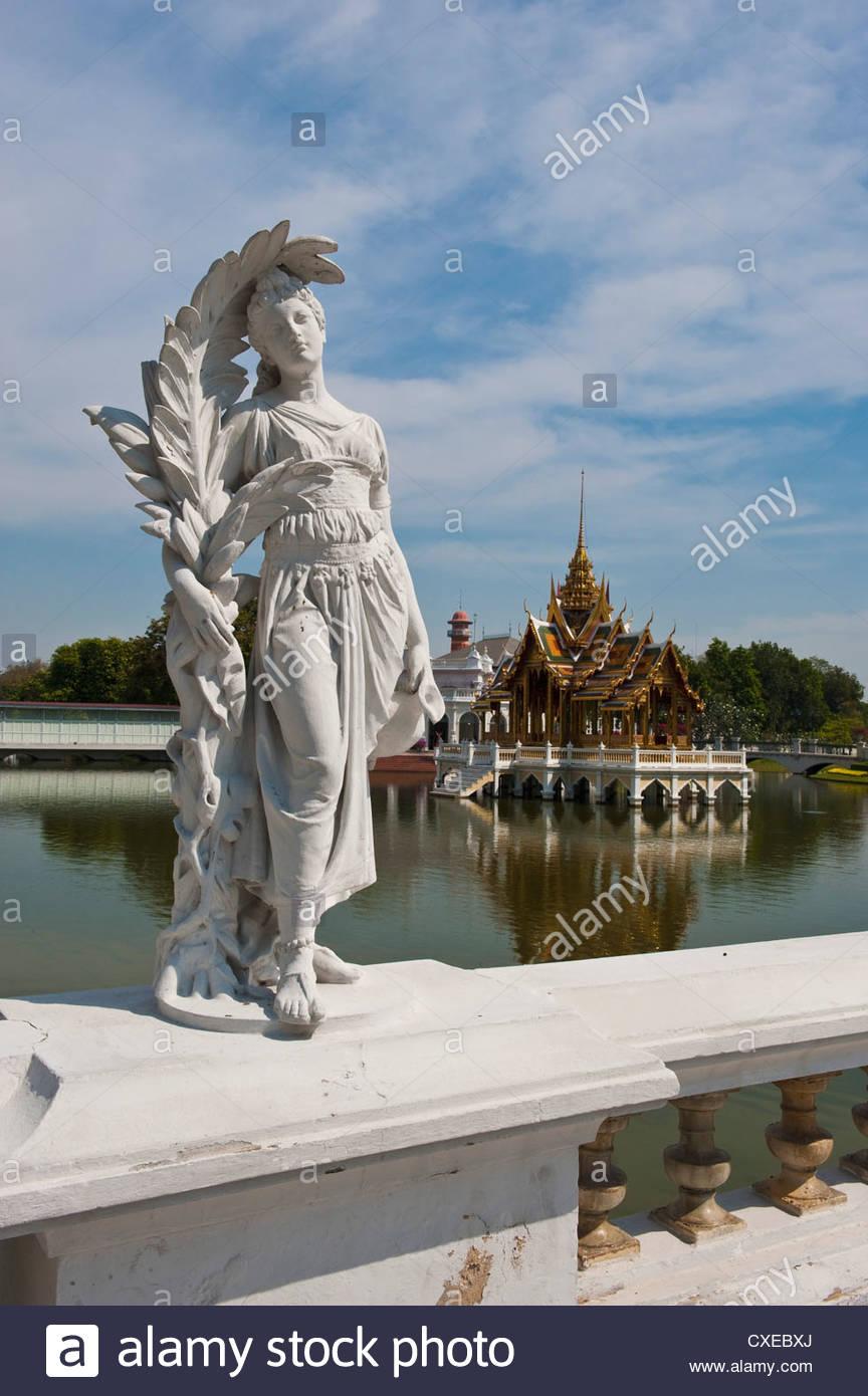 Bang Pa-In Royal Palace, near Ayutthaya, Thailand, Southeast Asia, Asia Stock Photo