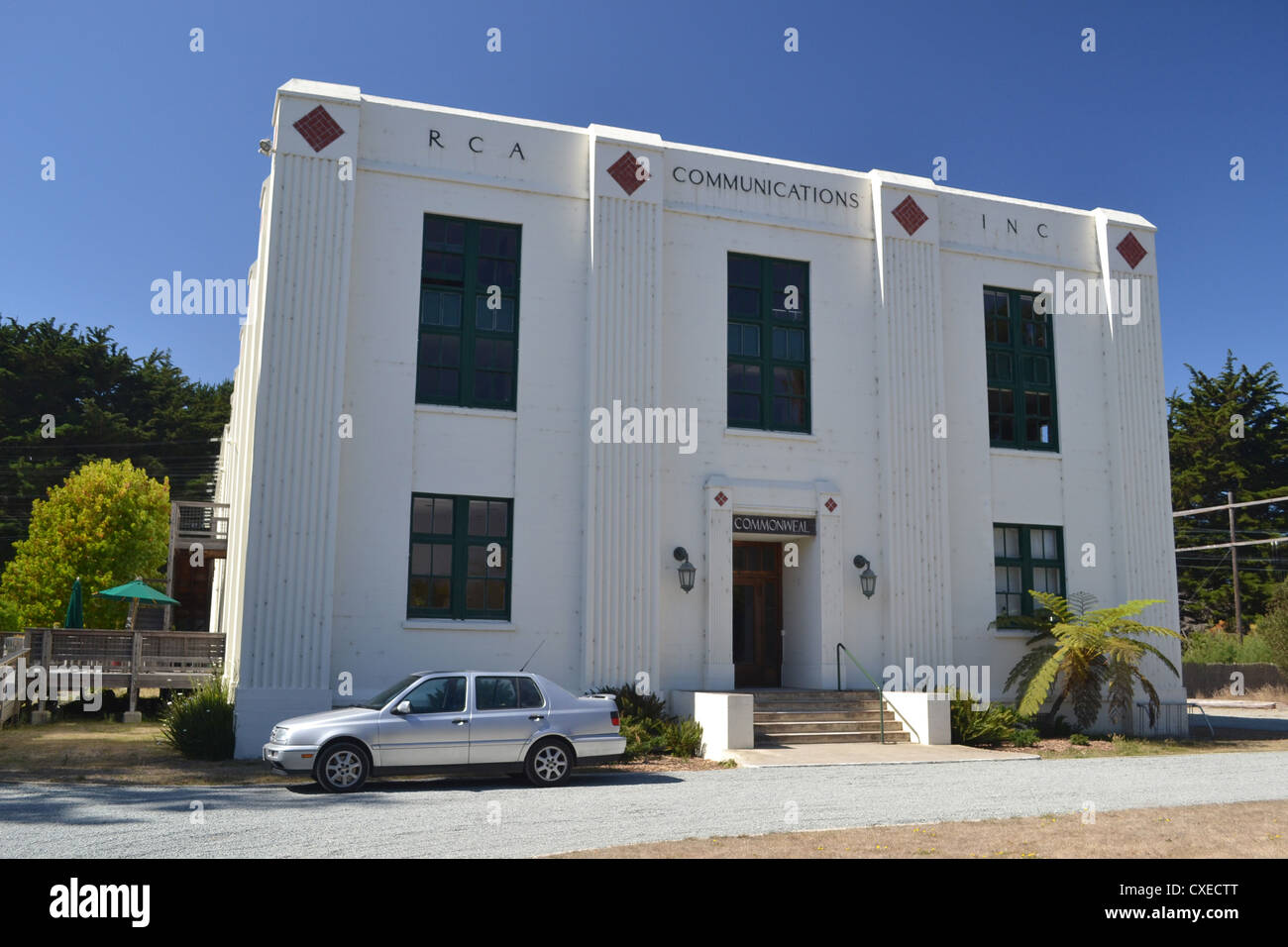 RCA KPH Radio Building at Point Reyes, California - Stock Image