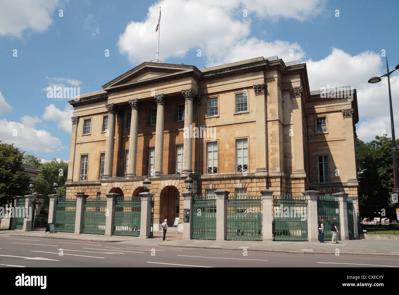 Apsley House, the London townhouse home of the Duke of Wellington, Hyde Park Corner, London, UK. - Stock Image
