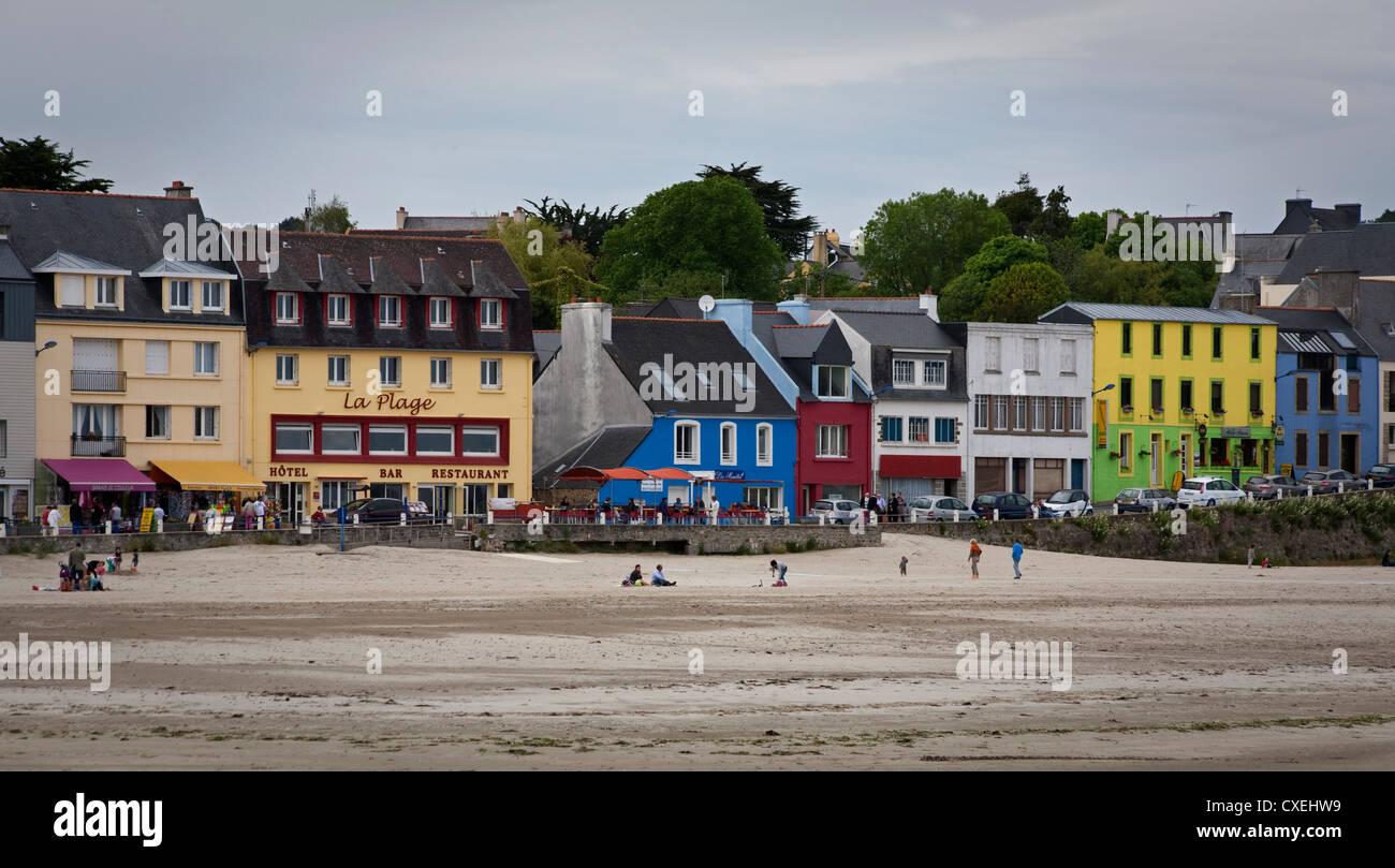 Morgat seaside resort Brittany France Stock Photo