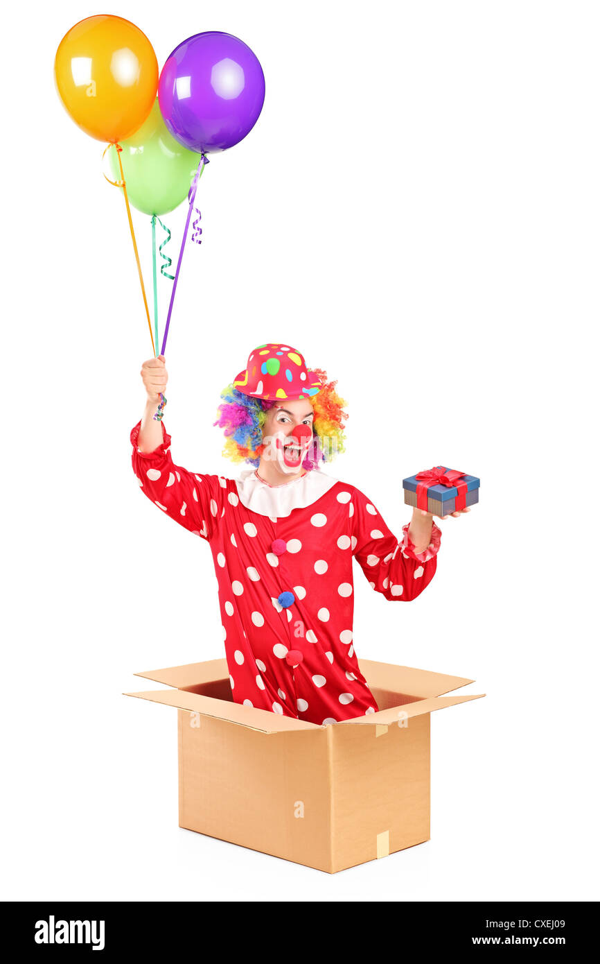 Clown And Balloons Stock Photos & Clown And Balloons Stock Images ...