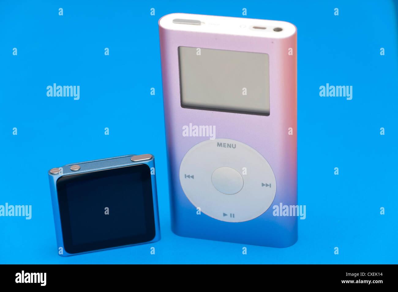 Ipod Nano And Ipod Mini Classic Side By Side Stock Photo 50724048
