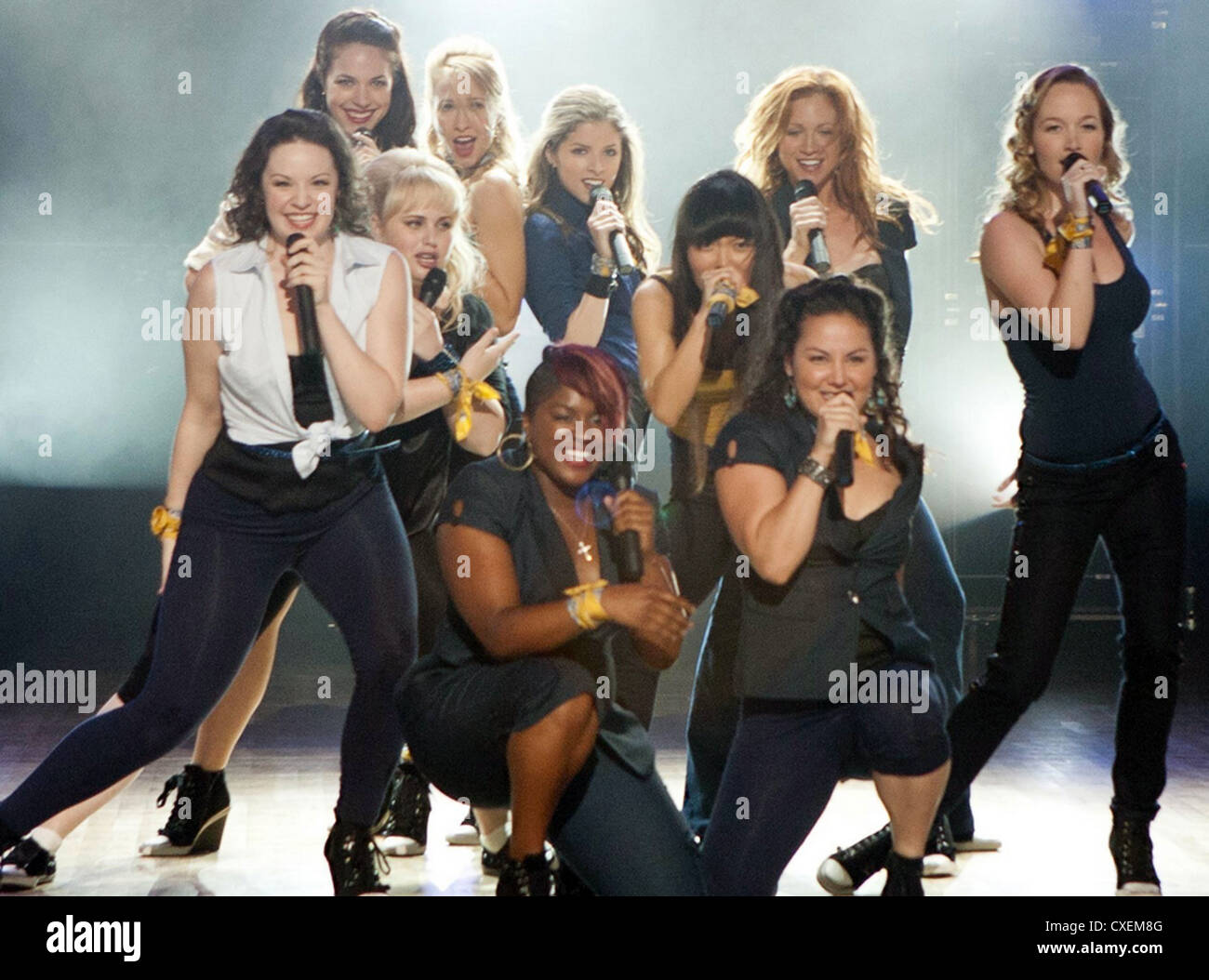PITCH  PERFECT 2012 Universal musical comedy film - Stock Image