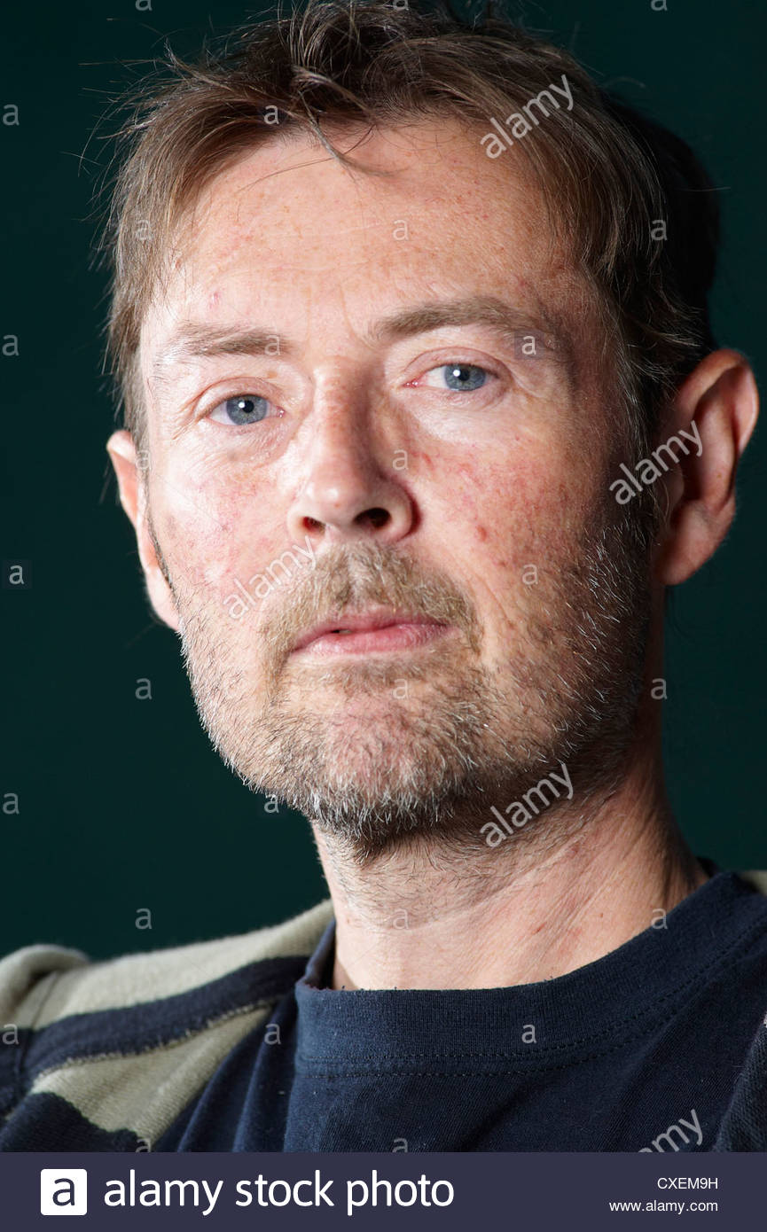 DBC Pierre,author and Booker Prize winning writer of the book Vernon God Little. His third novel is Lights Out in - Stock Image