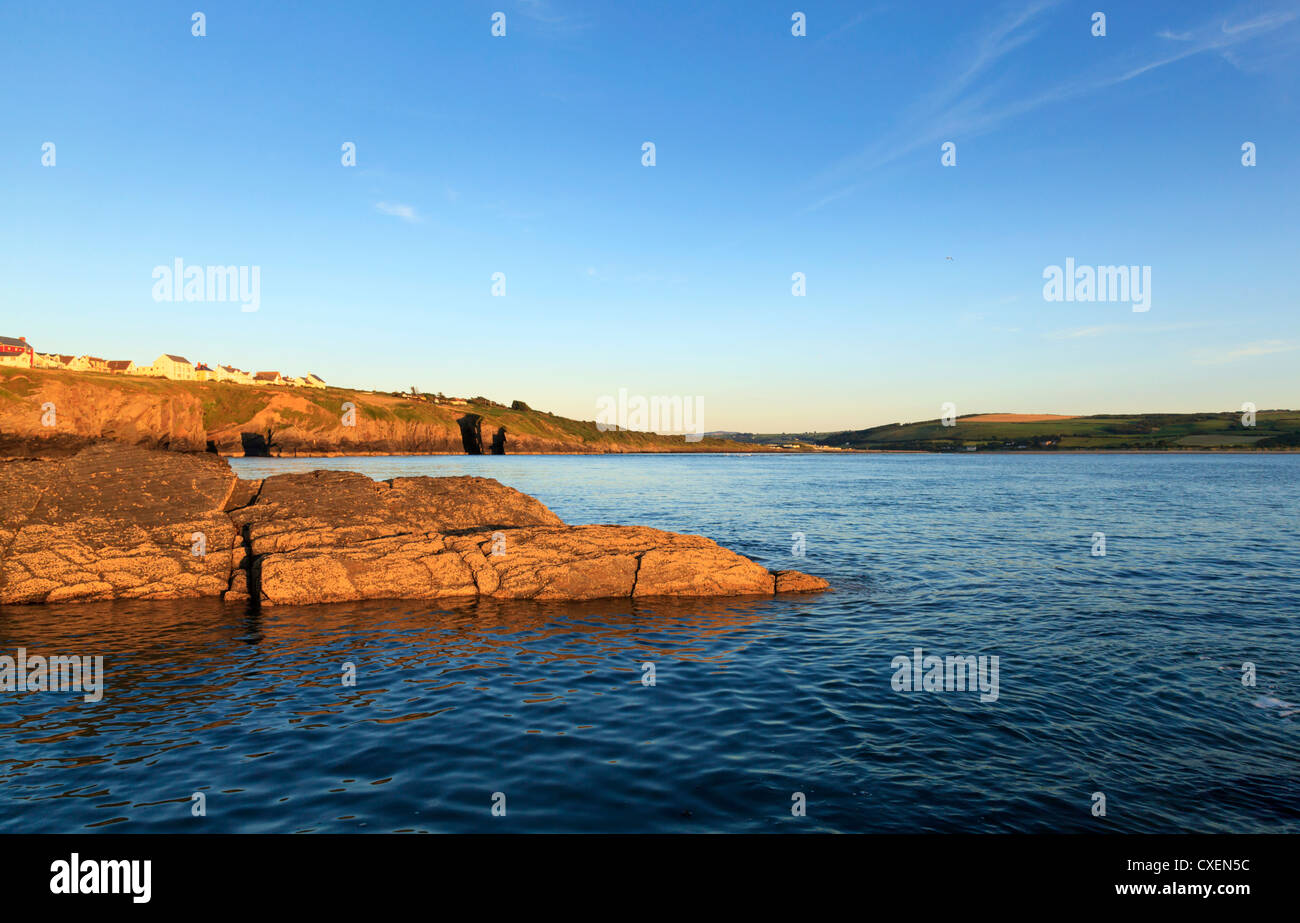 The Teifi estuary, Gwbert Stock Photo