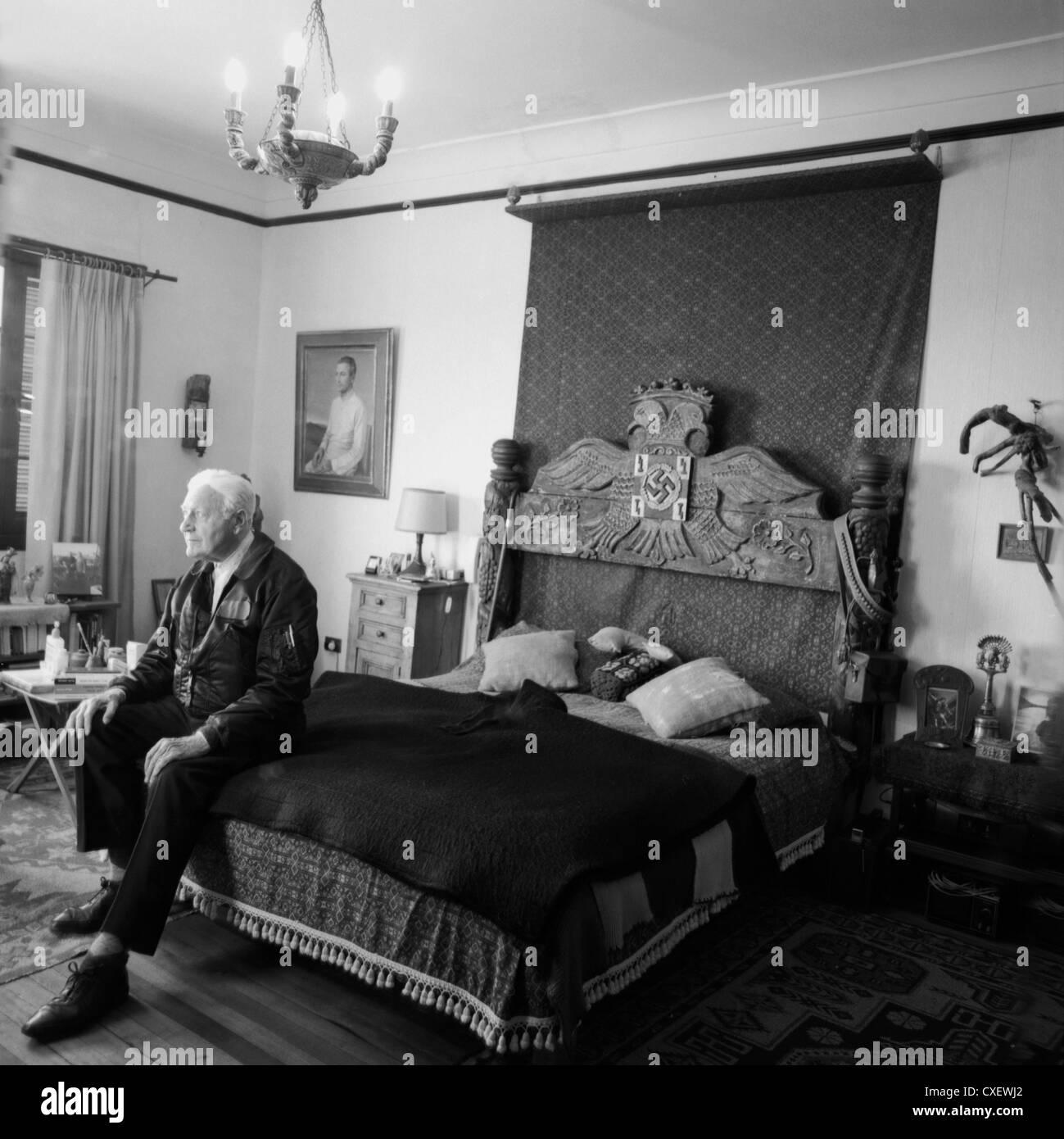 Writer and Nazi follower Miguel Serrano - Stock Image