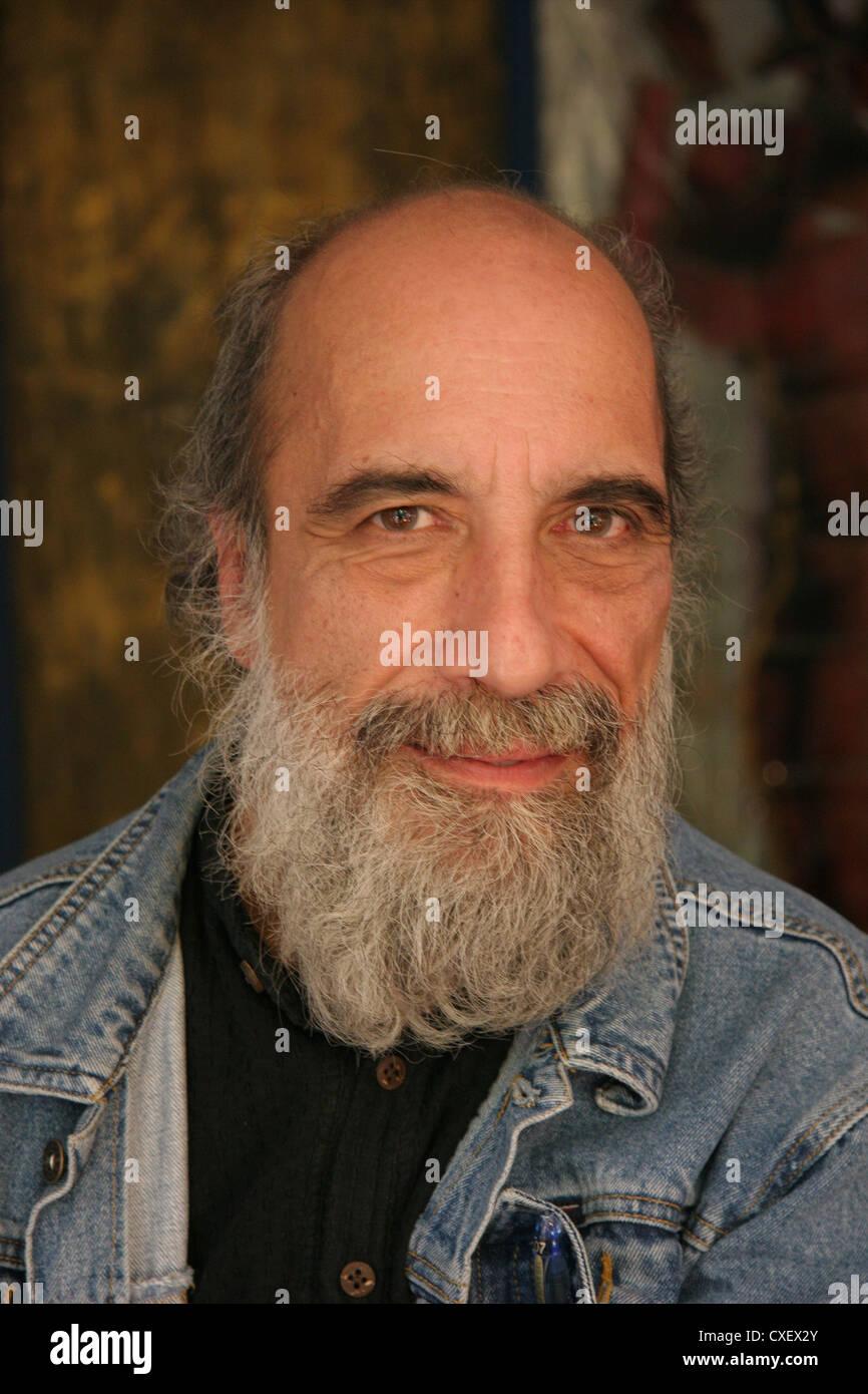 Chilean Poet Raul Zurita - Stock Image