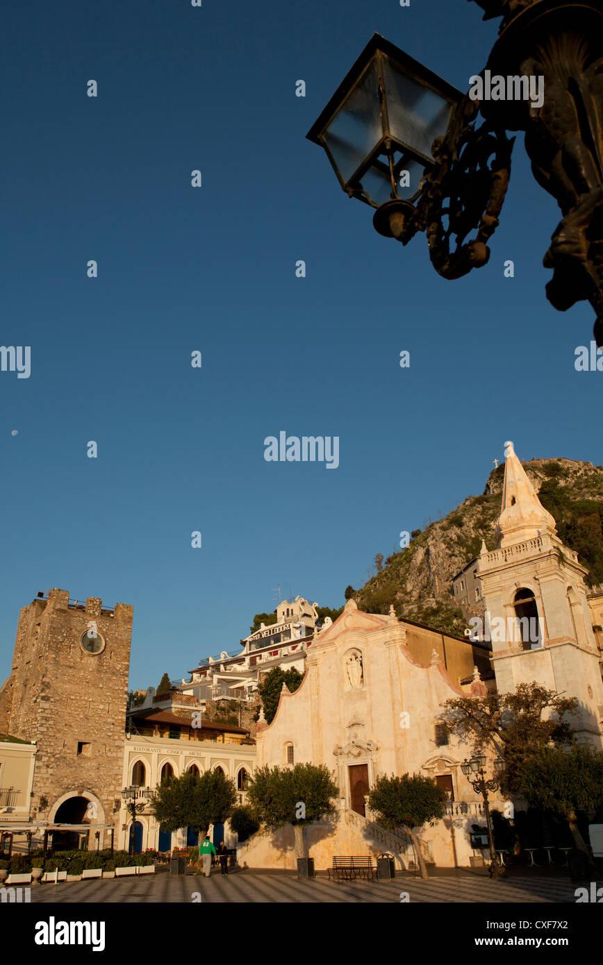 Church of San Giuseppe in Taormina, Sicily - Stock Image