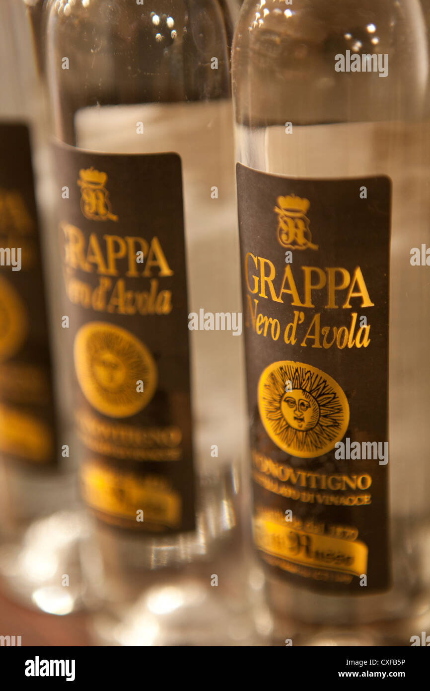 Grappa - the national Italian alcoholic drink