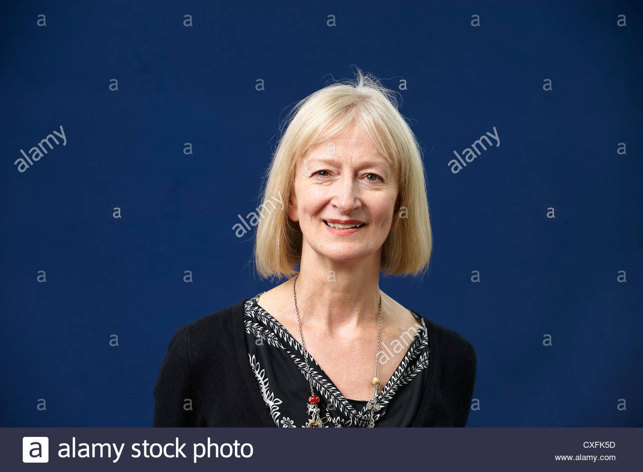 Maggie Gee,author and writer of My Animal Life at The Edinburgh International Book Festival 2010 .CREDIT Geraint - Stock Image