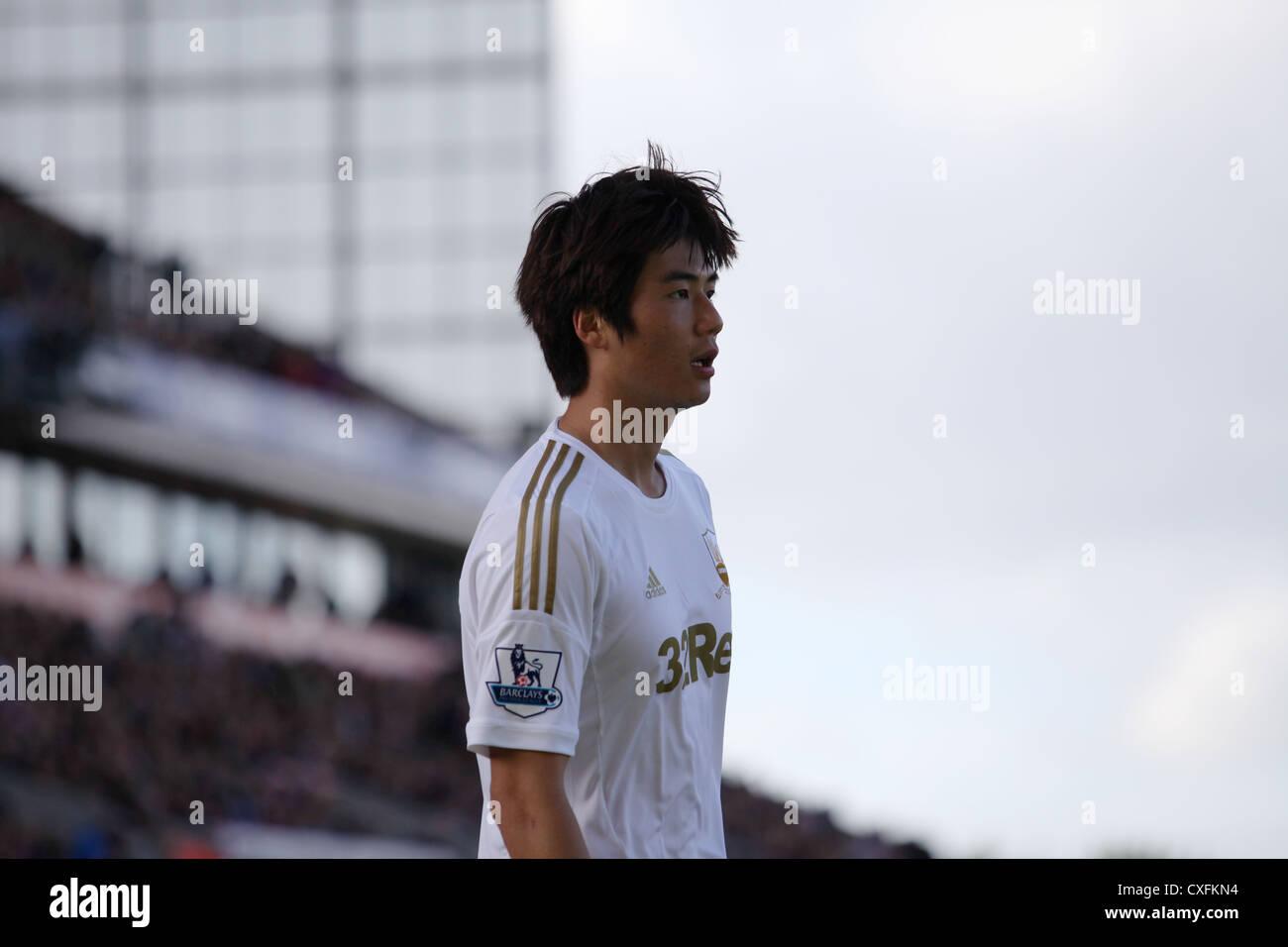 Ki Sung-Yeung, Barclays Premier League, Stoke City V Swansea, Britannia Stadium, 29/09/12 - Stock Image