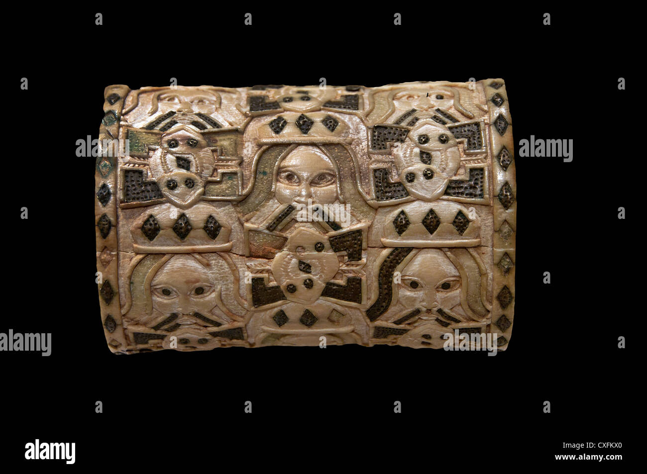 Bracelet 1550 – 1680 Nigeria Court of Benin Edo peoples Ivory Africa - Stock Image