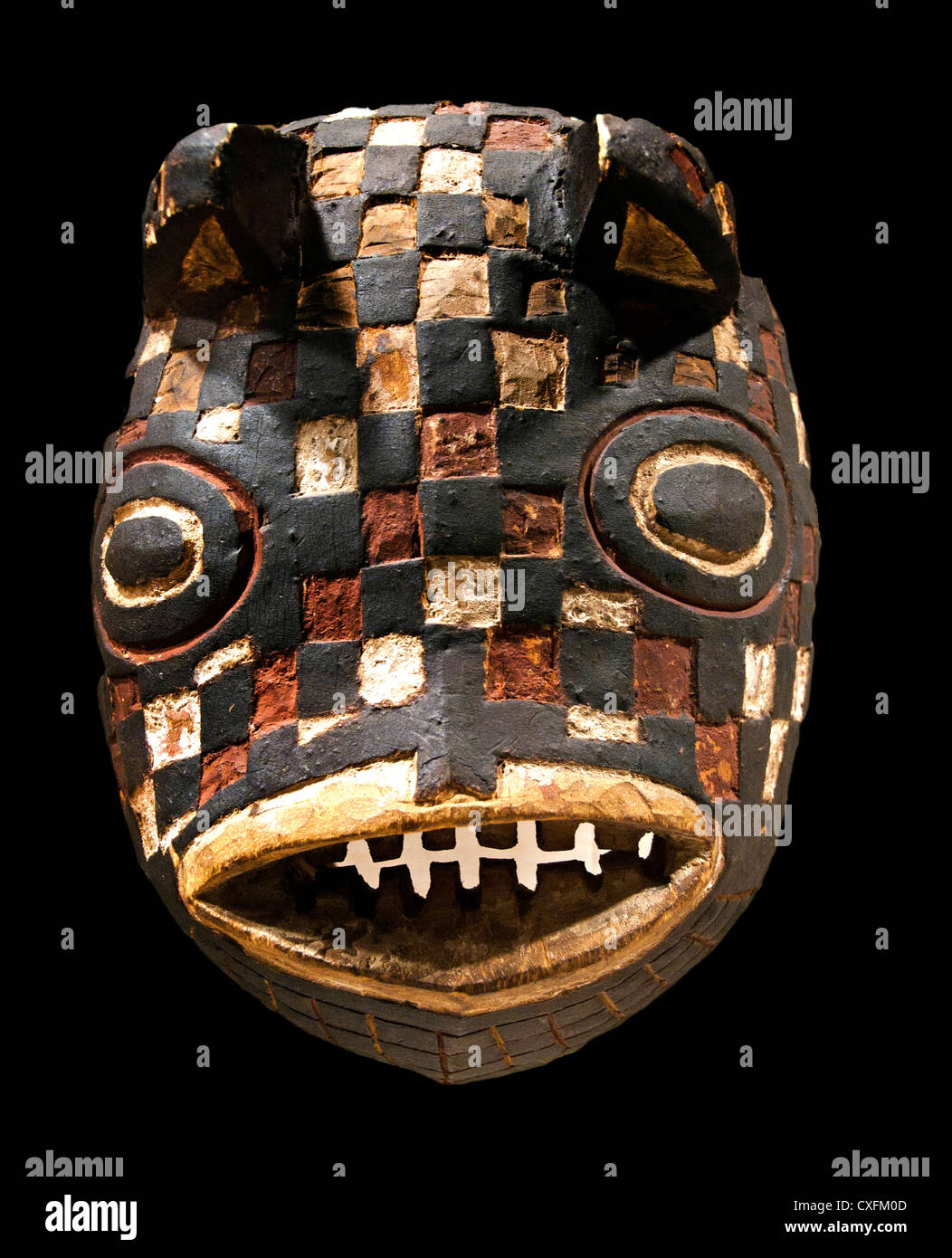 Mask  Fish ( Basi )  Burkina Faso Bwa  Peoples 19 - 20 Century  Africa - Stock Image