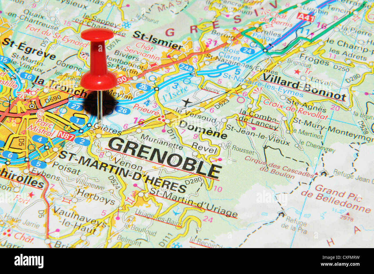 Grenoble Road Stock Photos Grenoble Road Stock Images Alamy