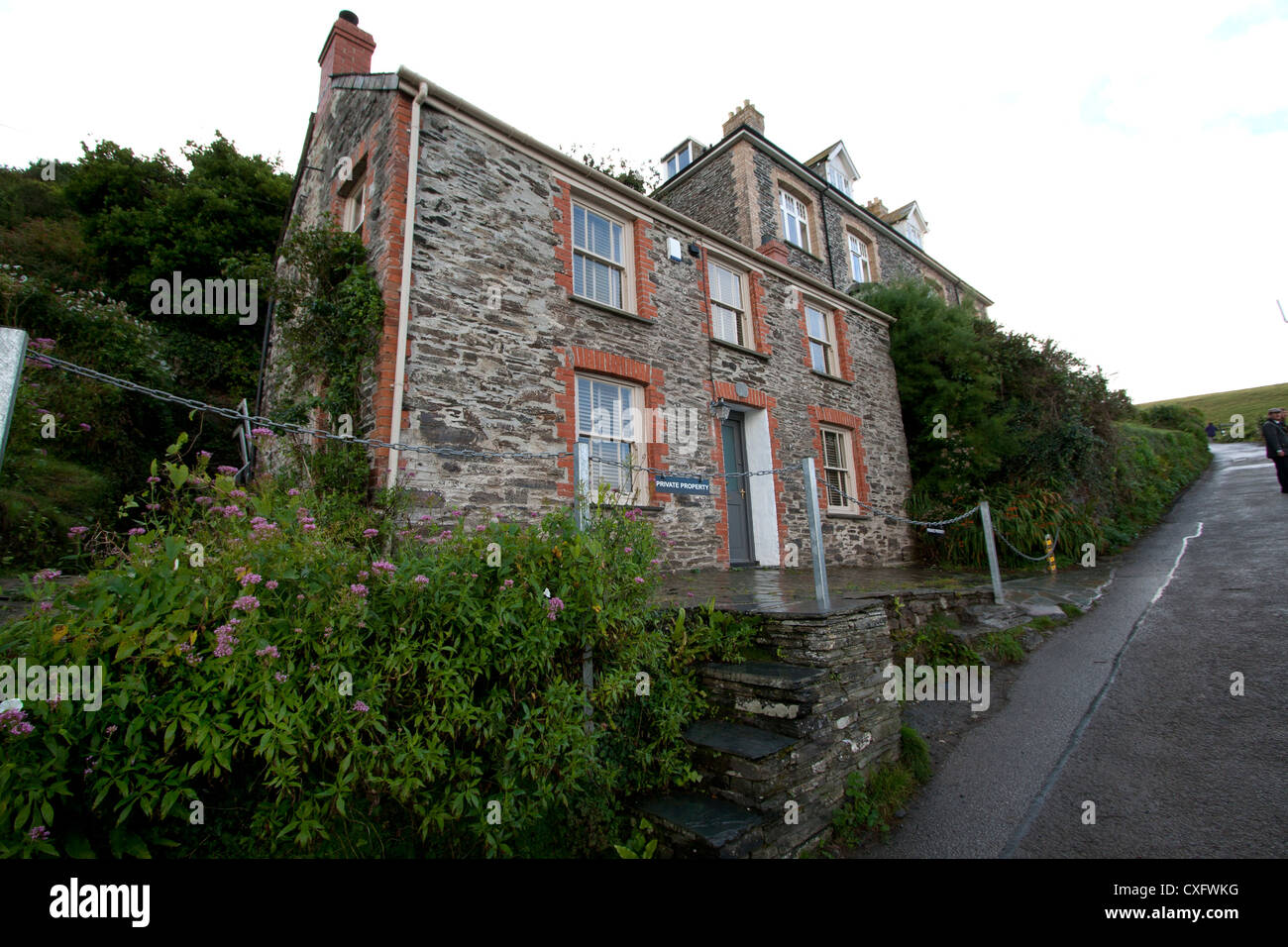 fern cottage port isaac cornwall england stock photo 50751220 rh alamy com fern cottage port isaac uk fern cottage port isaac to rent