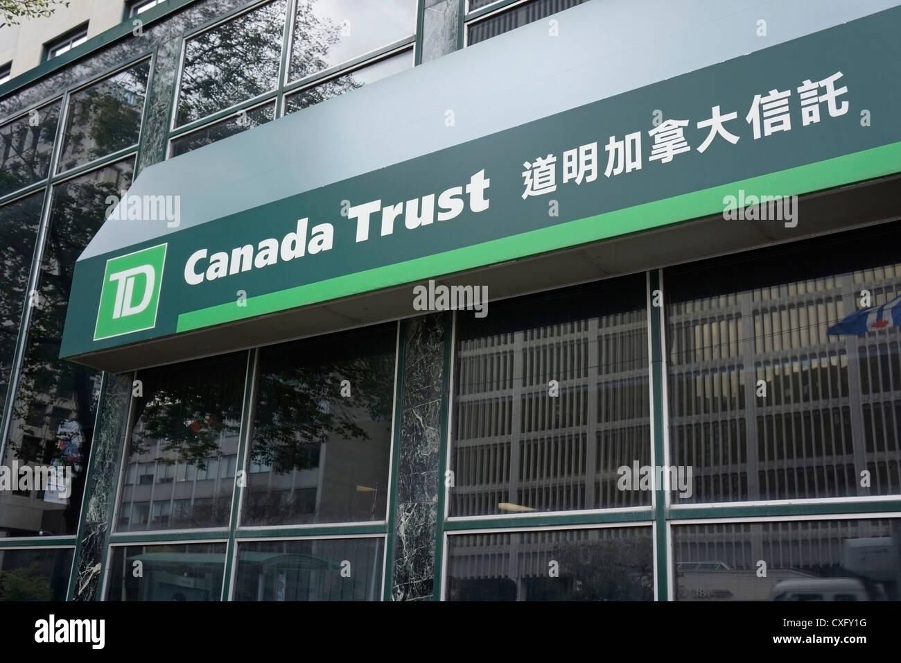 TD Canada Trust, Toronto Stock Photo - Alamy