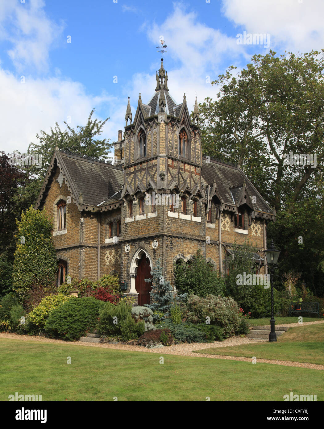 Holly Village Victorian Gothic houses at Highgate London England ...