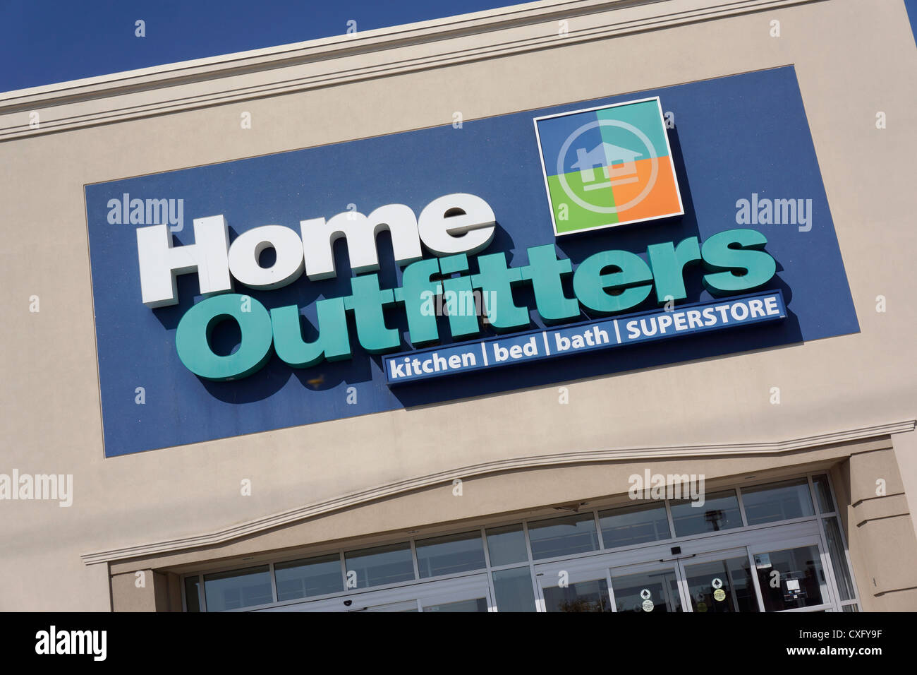 Home Outfitters, Store - Stock Image
