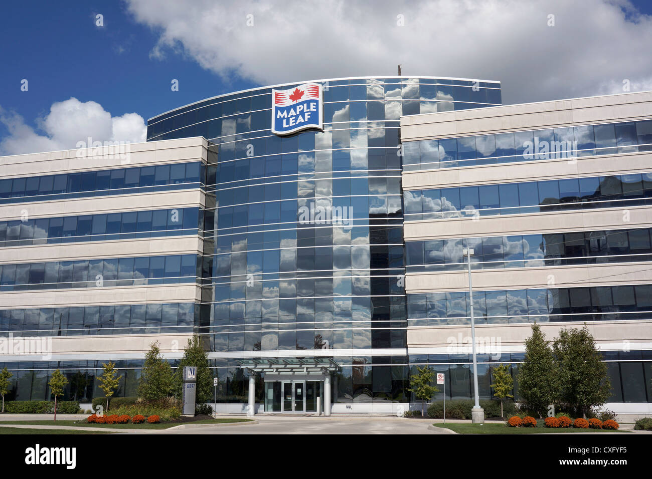 Maple Leaf Foods, office building - Stock Image
