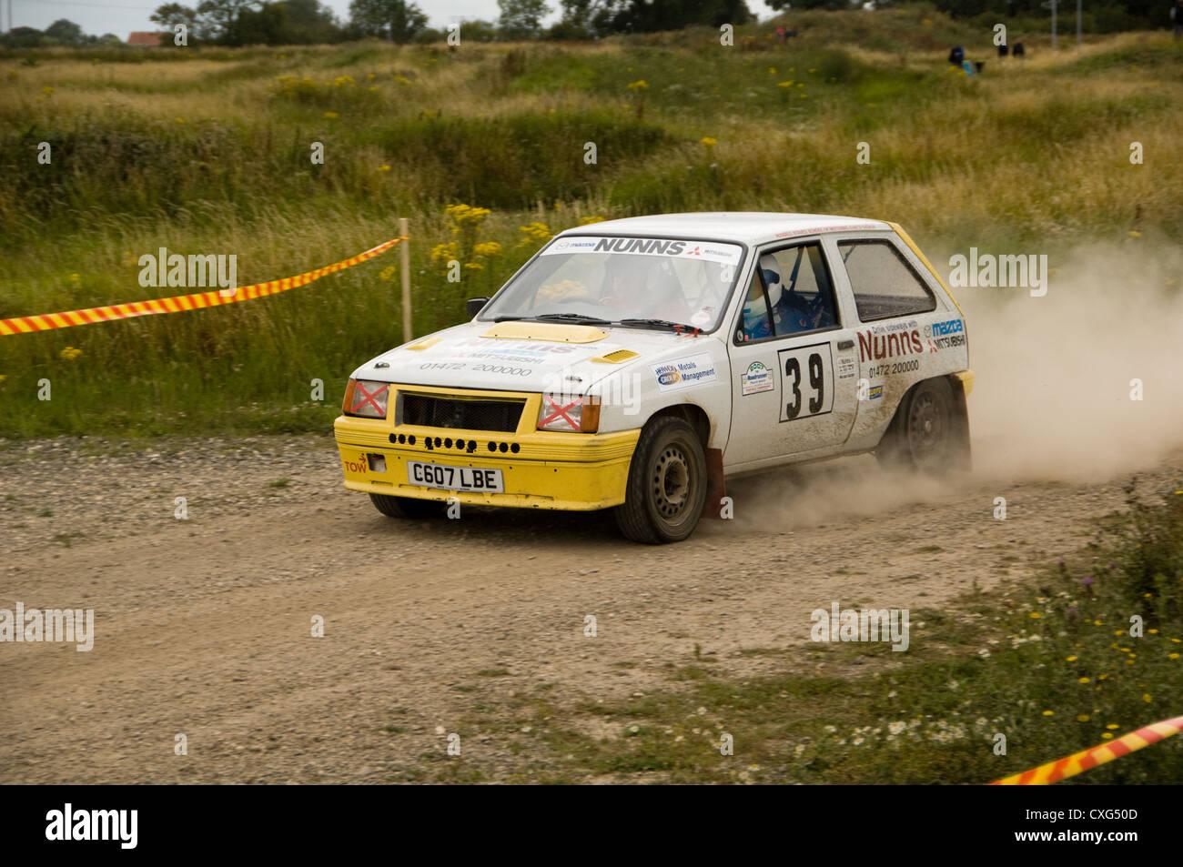 Vauxhall Nova rally car Stock Photo: 50756957 - Alamy