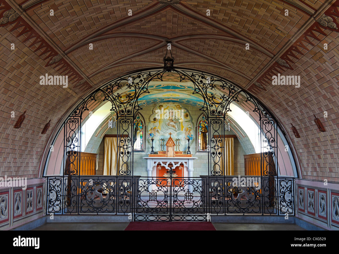 Italian Chapel, Orkney Isles, Scotland UK, Europe - Stock Image