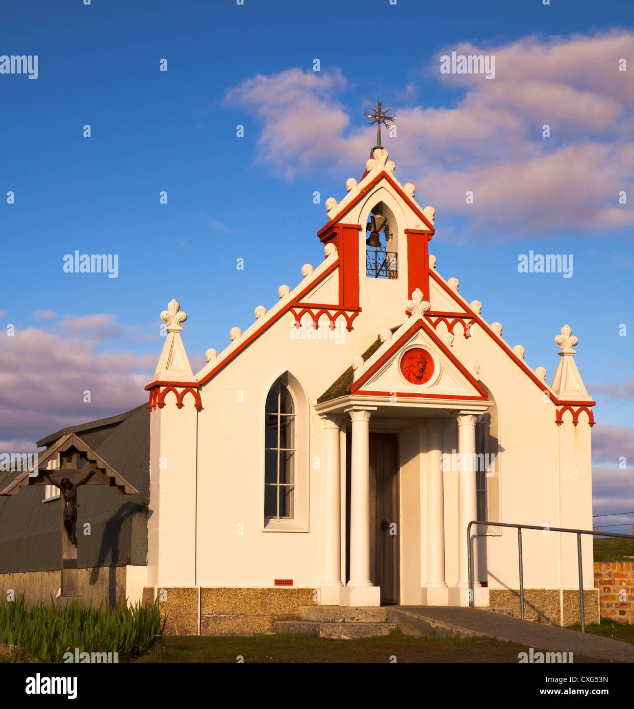 Italian Chapel, Orkney Isles, Scotland, UK - Stock Image