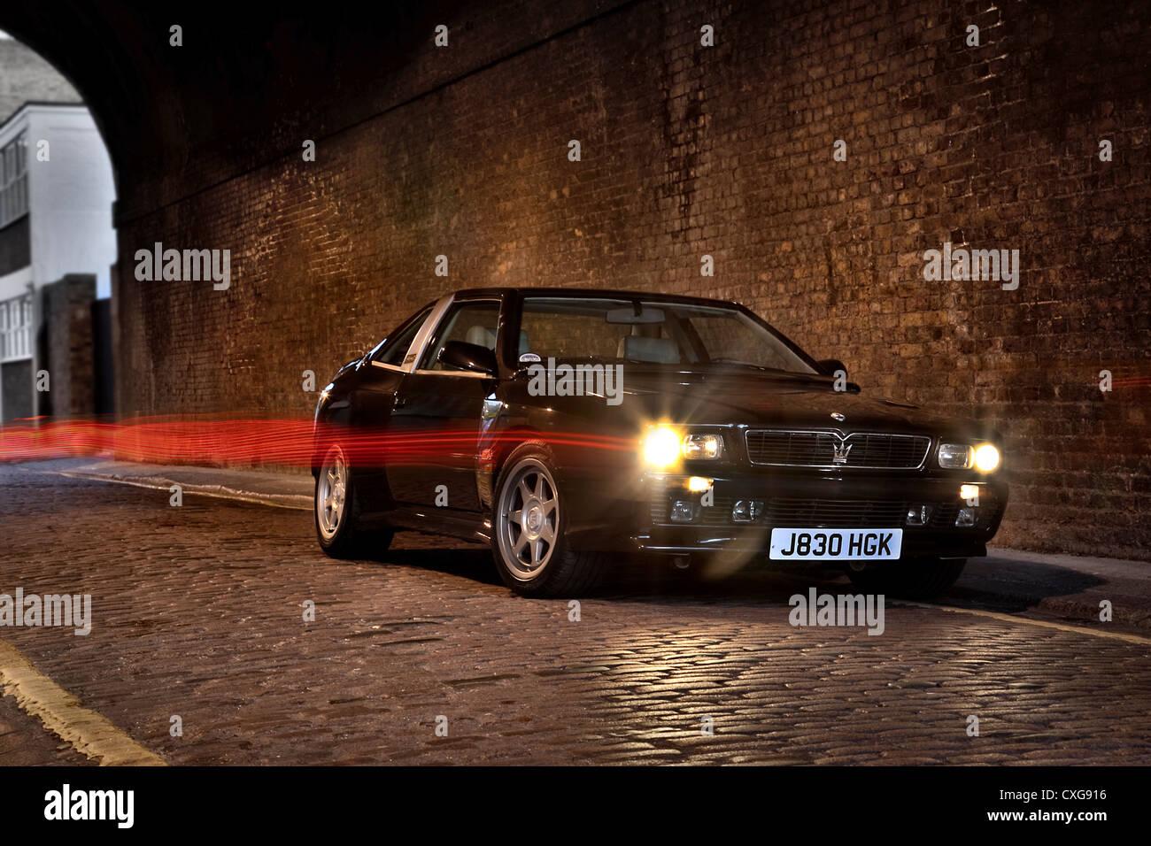 Maserati Shamal 1991 - Stock Image