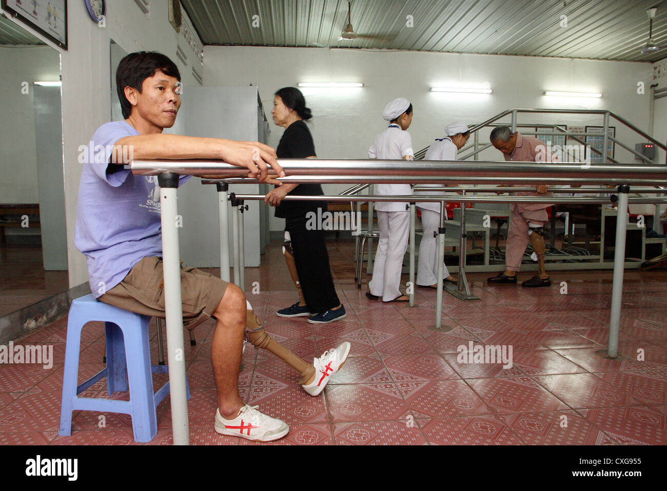 Orthopaediezentrum in Ho Chi Minh City - Stock Image