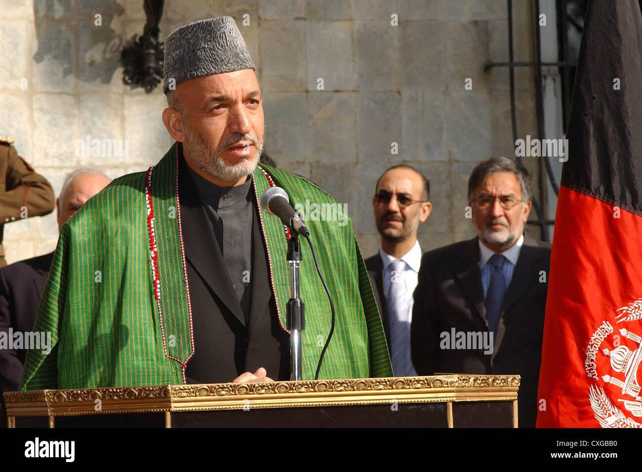 Afghanistan President Stock Photos & Afghanistan President