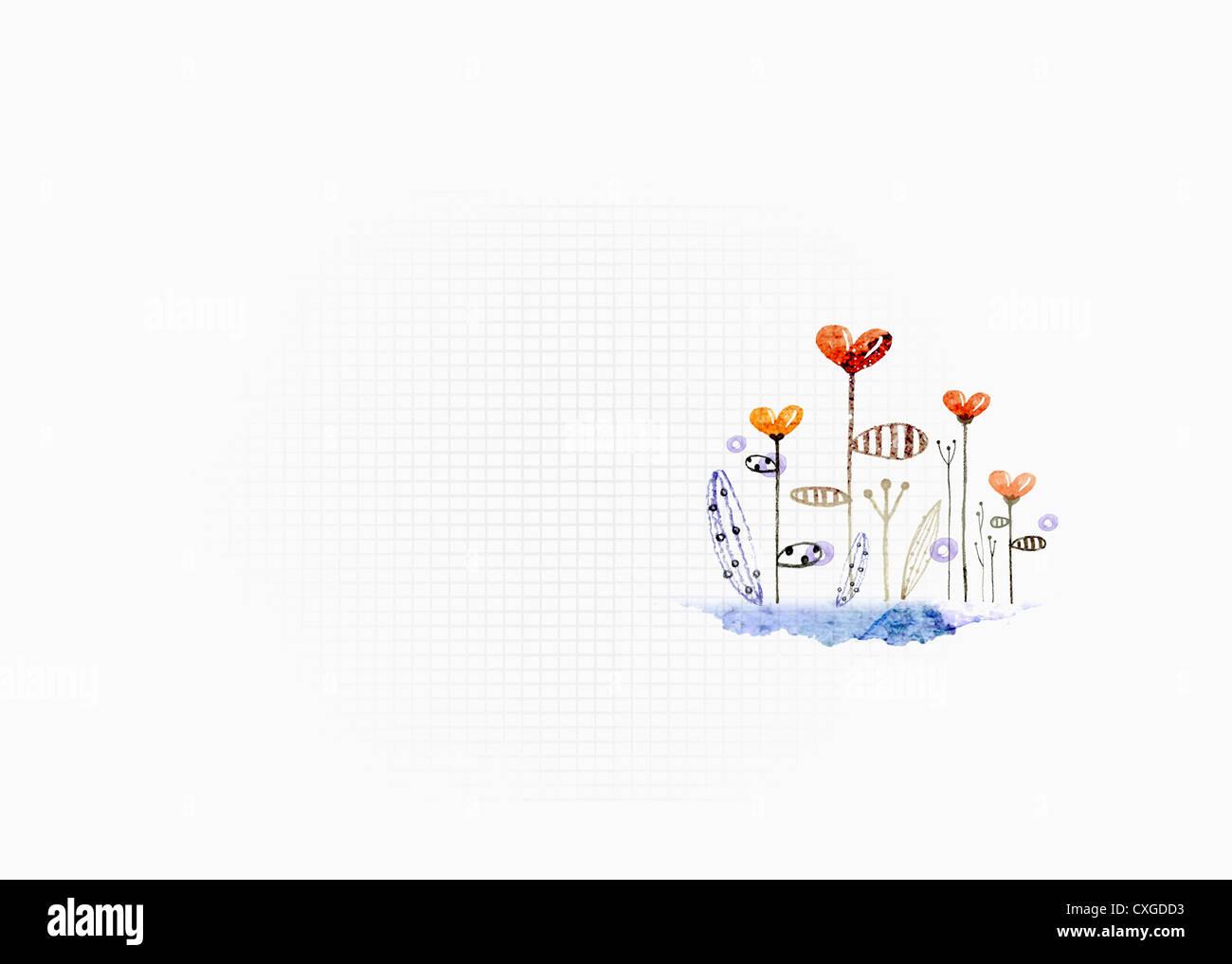 white simple ppt slide template design