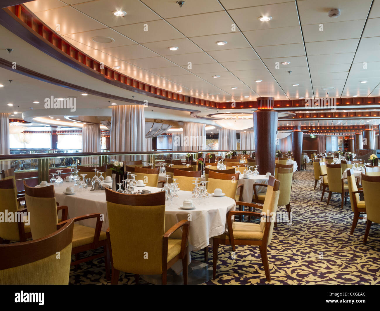 Formal Dining Room On Radiance Of The Seas Cruise Ship