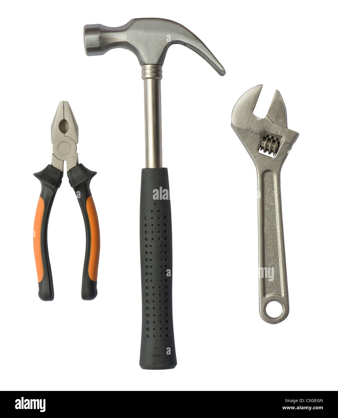 Set of tools - Stock Image