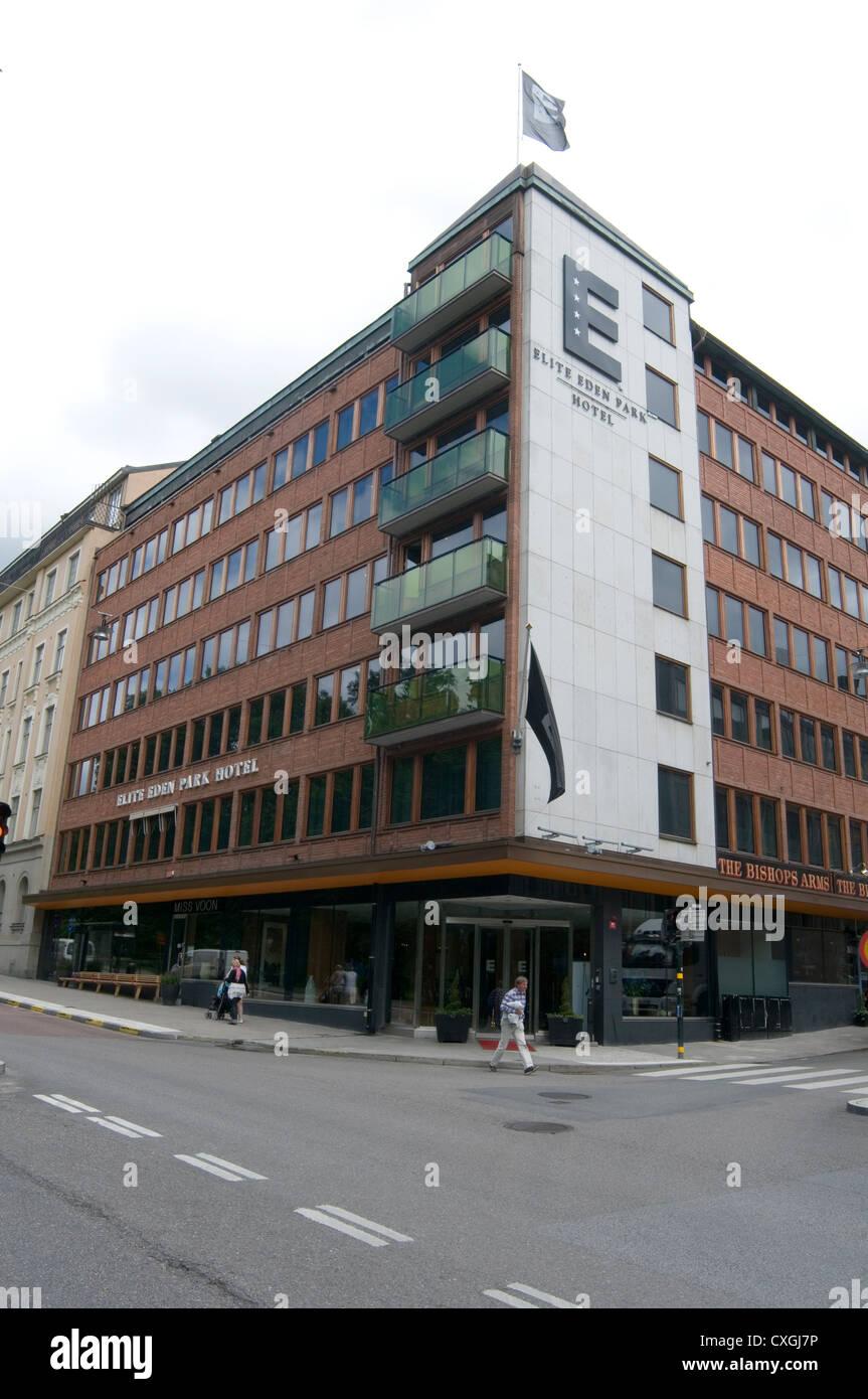 elite hotel hotels stockholm sweden swedish - Stock Image