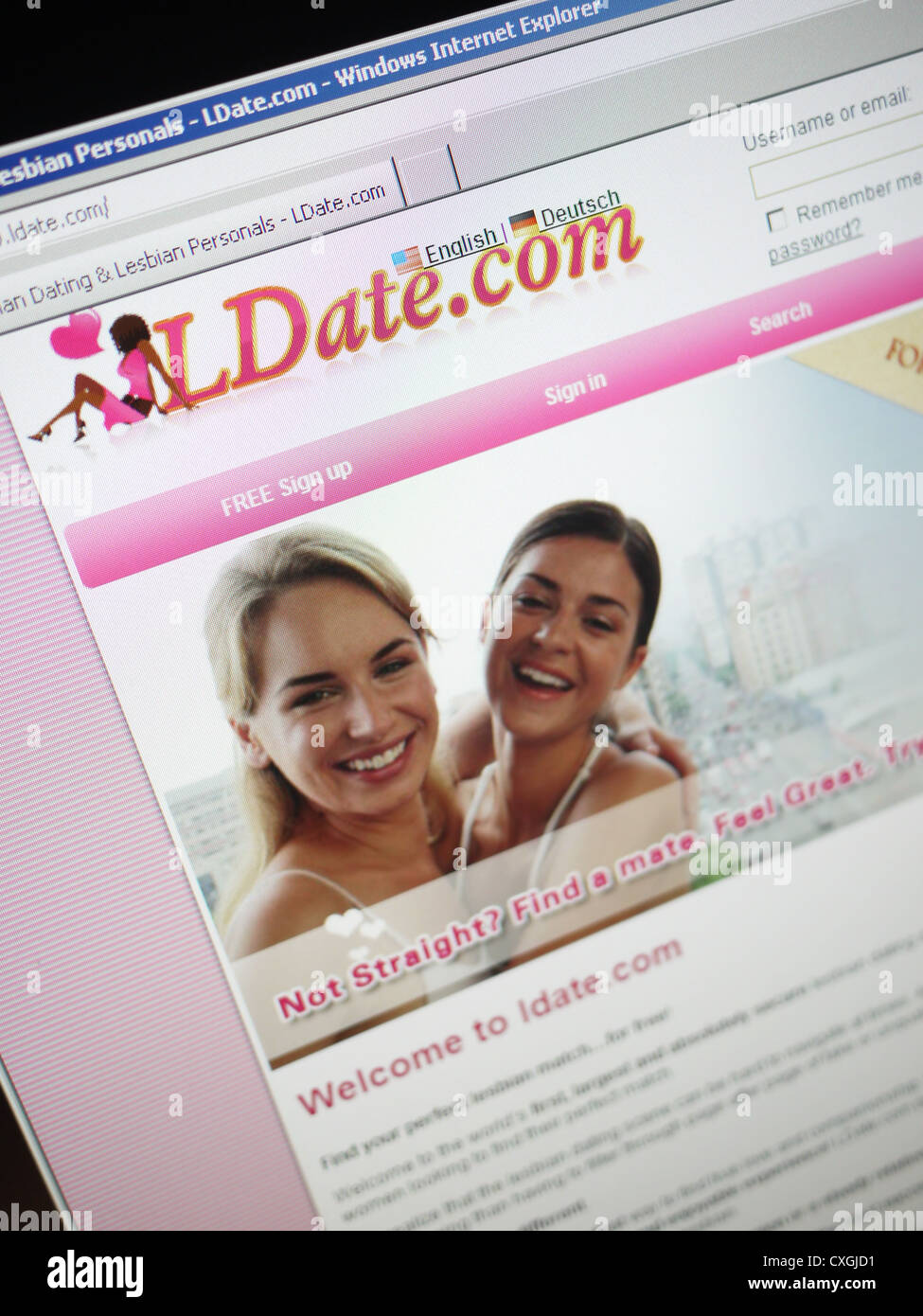 Ilmainen Lesbo dating site Englanti