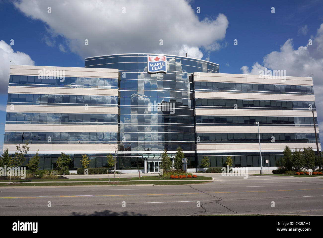 Maple Leaf Foods, building - Stock Image