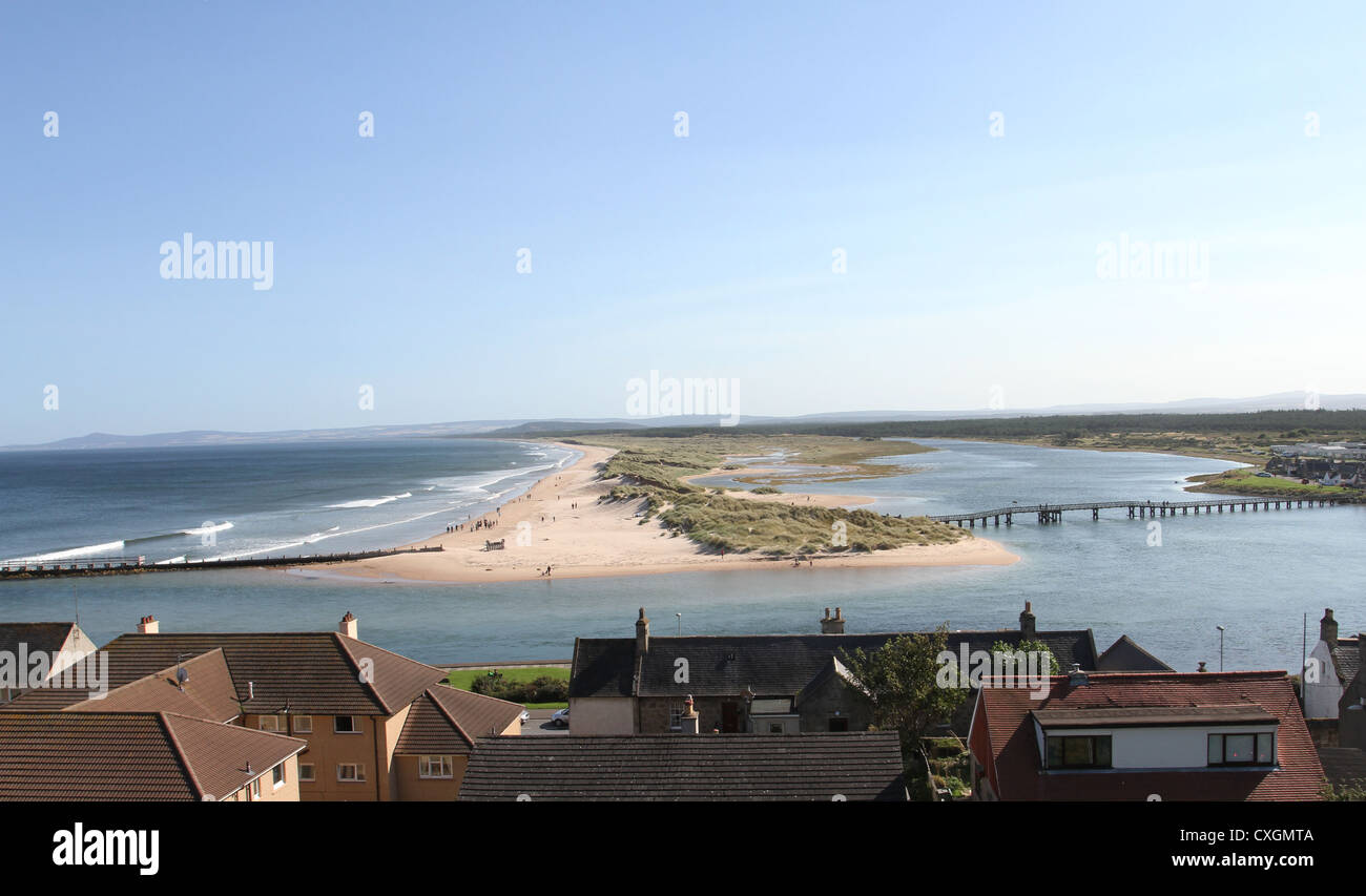 Lossiemouth Scotland September 2012 - Stock Image
