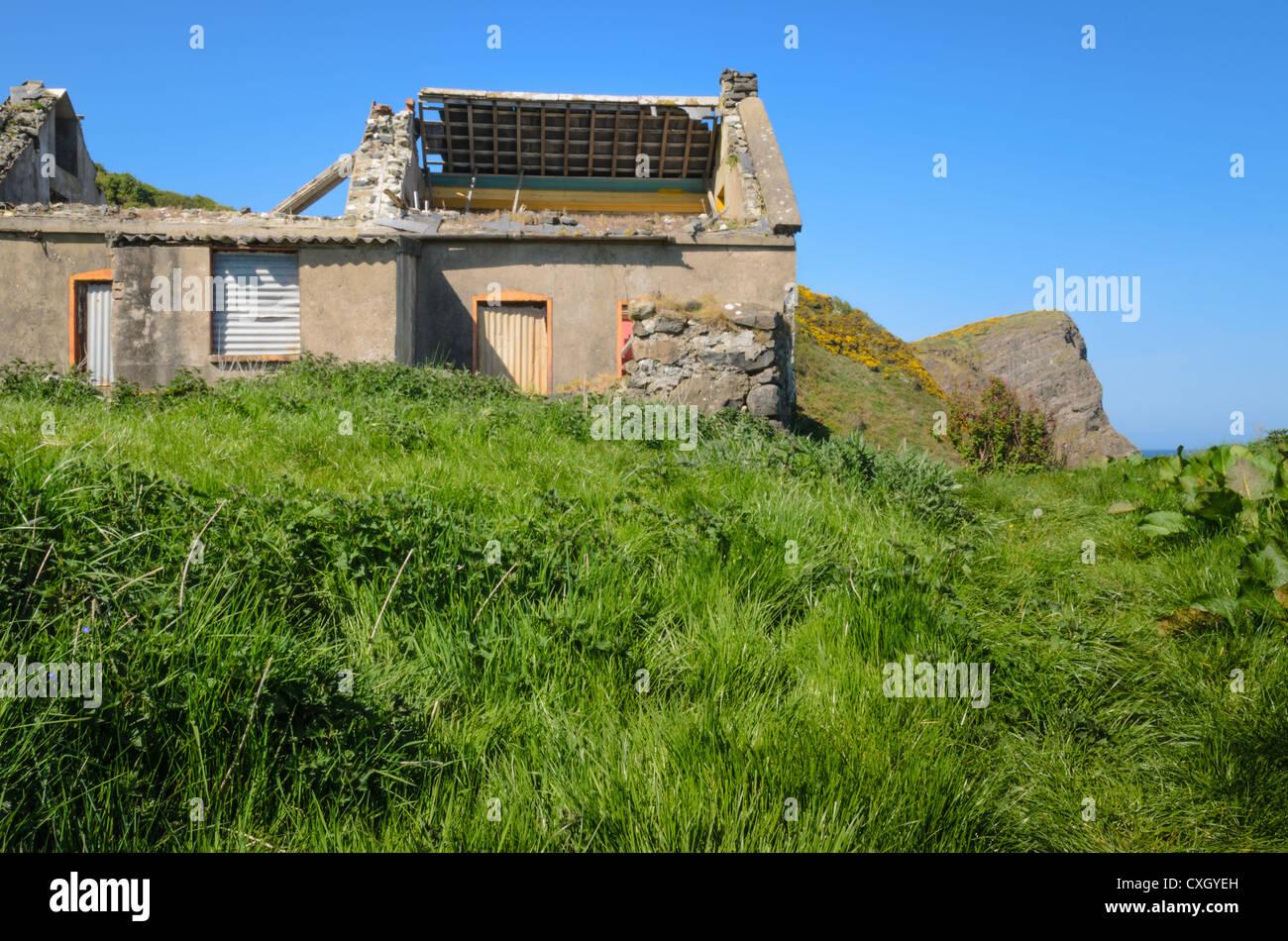 Derelict Irish Cottage Stock Photos Amp Derelict Irish