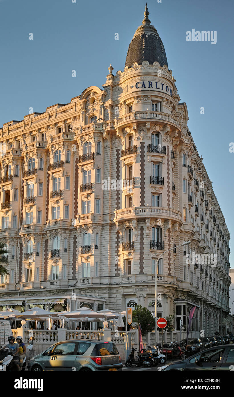 Carlton Intercontinental Hotel Cannes - Stock Image