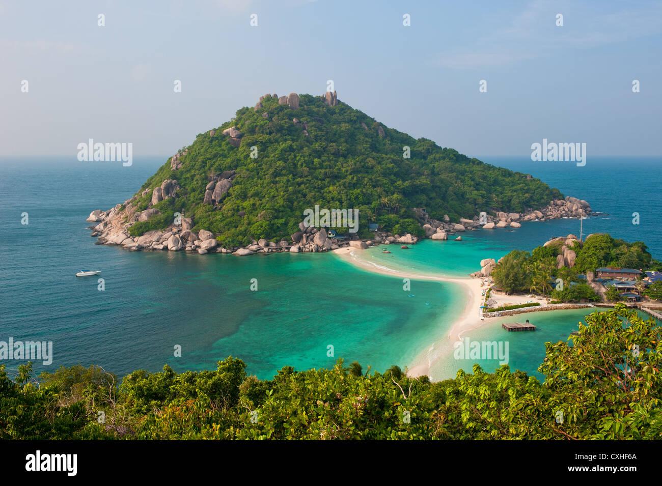 Nang Yuan Island, Koh Tao, Thailand - Stock Image